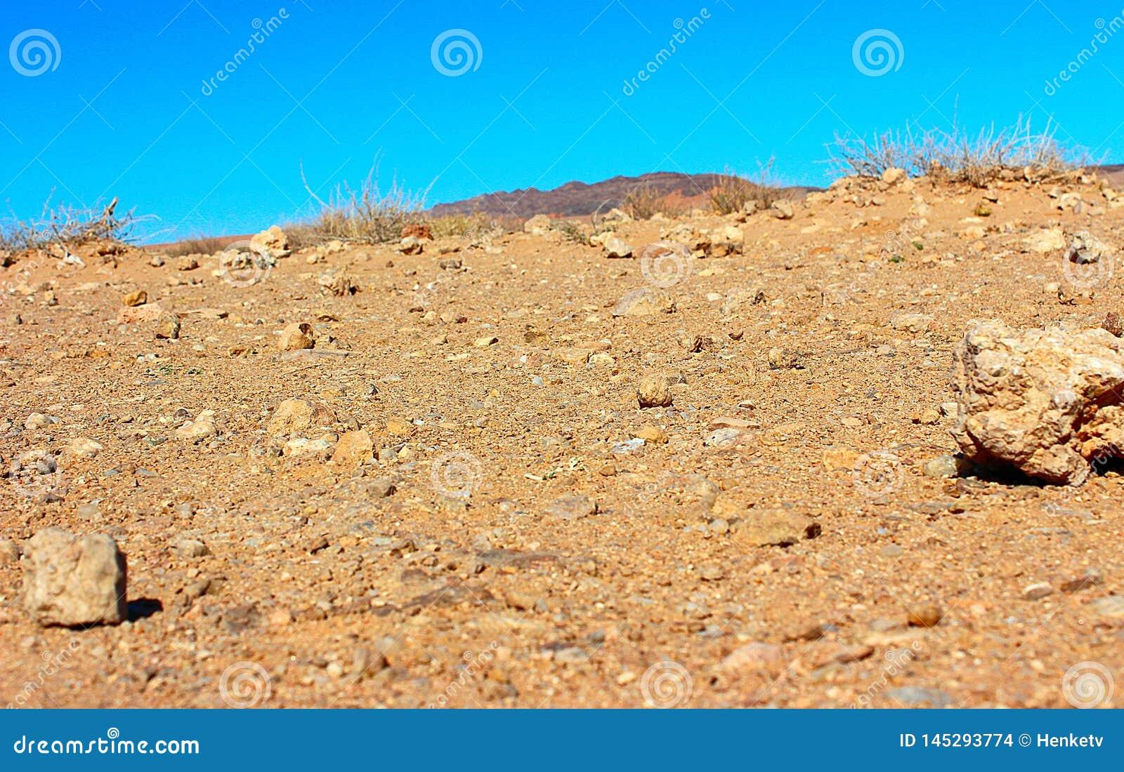 Песок пустыни в Африке