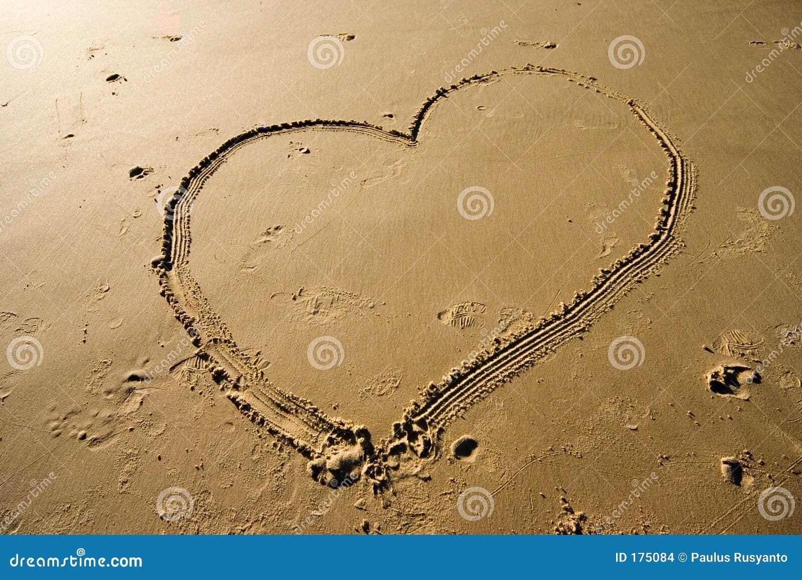 песок сердца