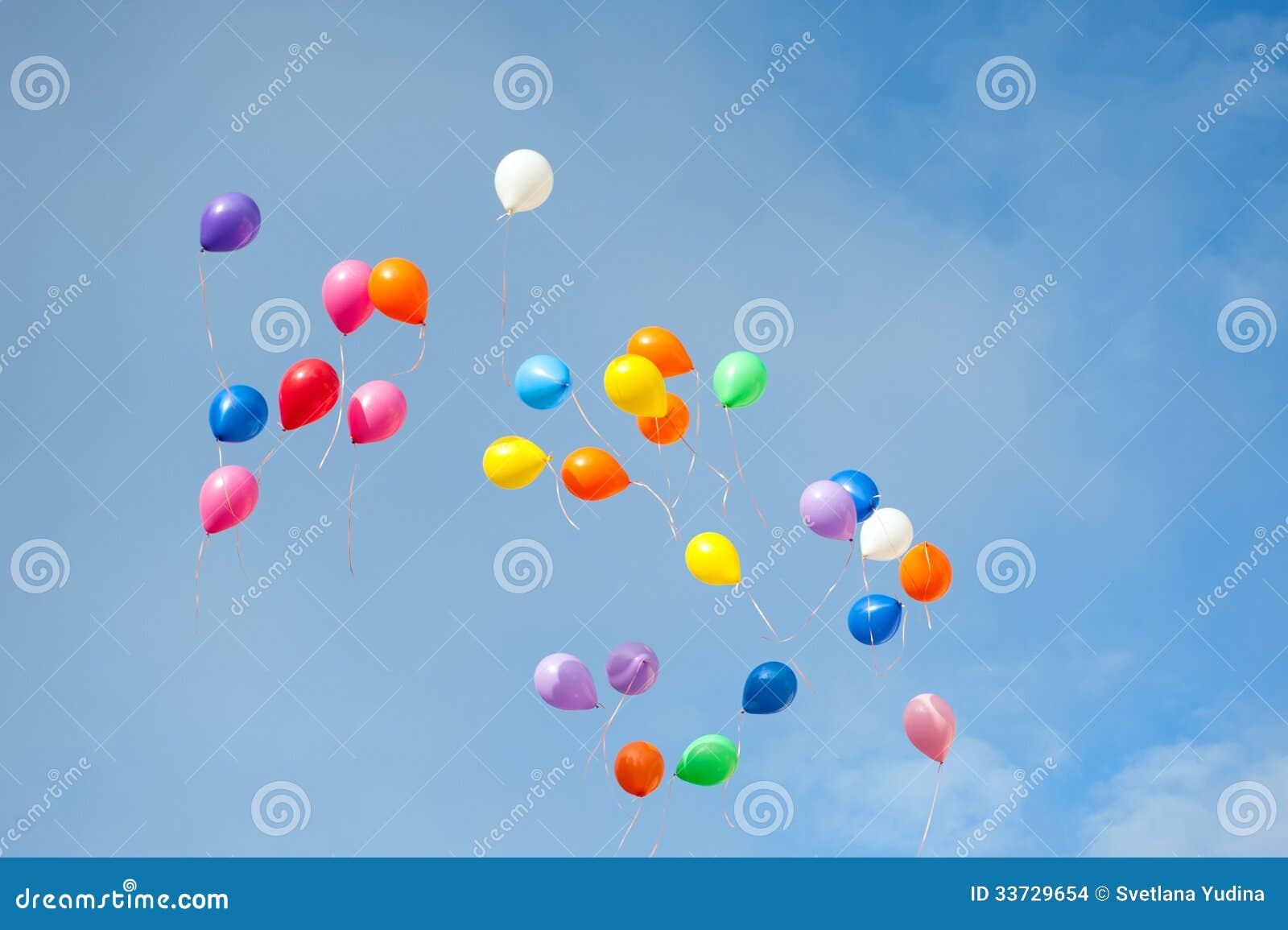Пестротканые воздушные шары