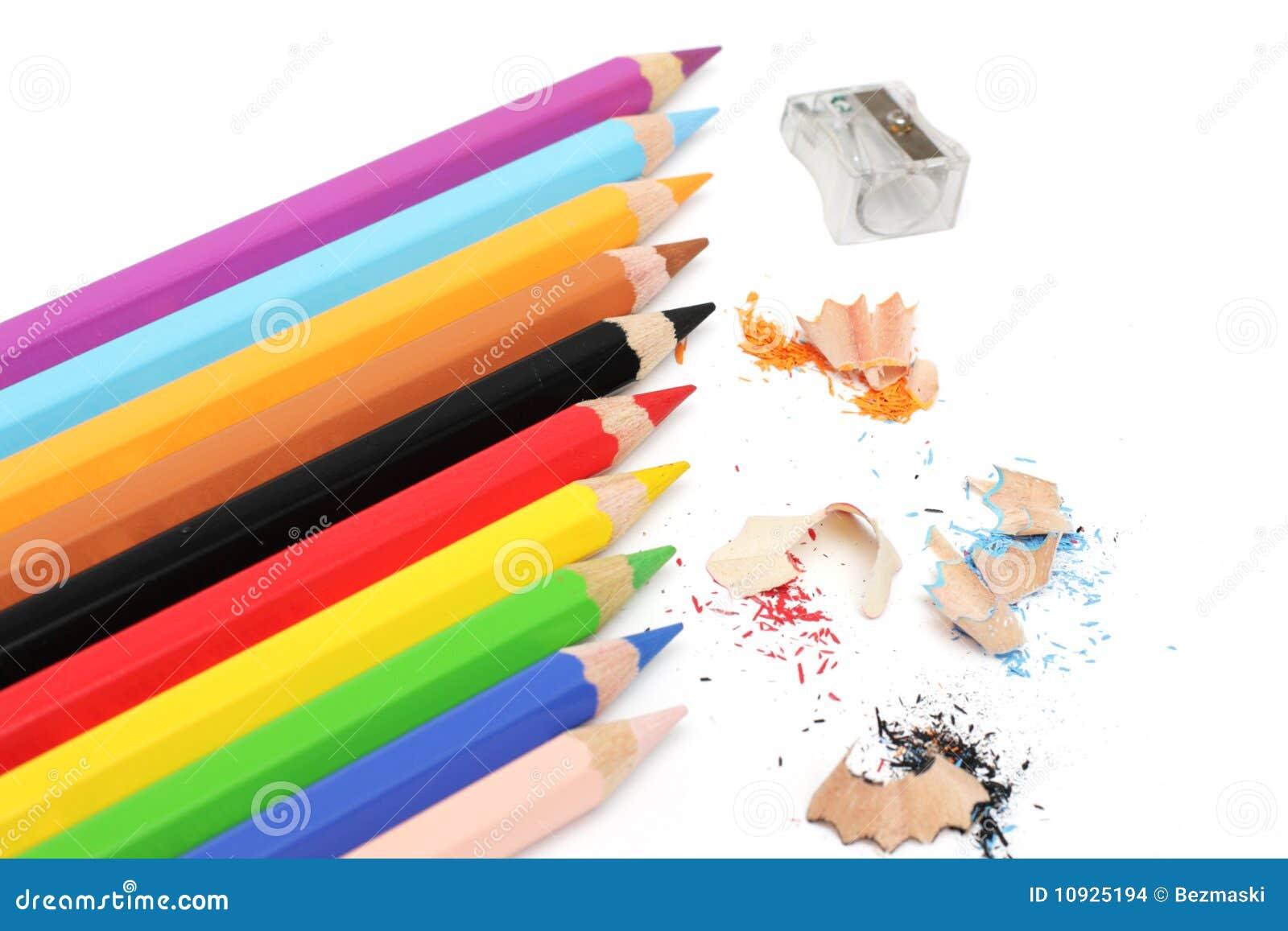 пестротканые карандаши