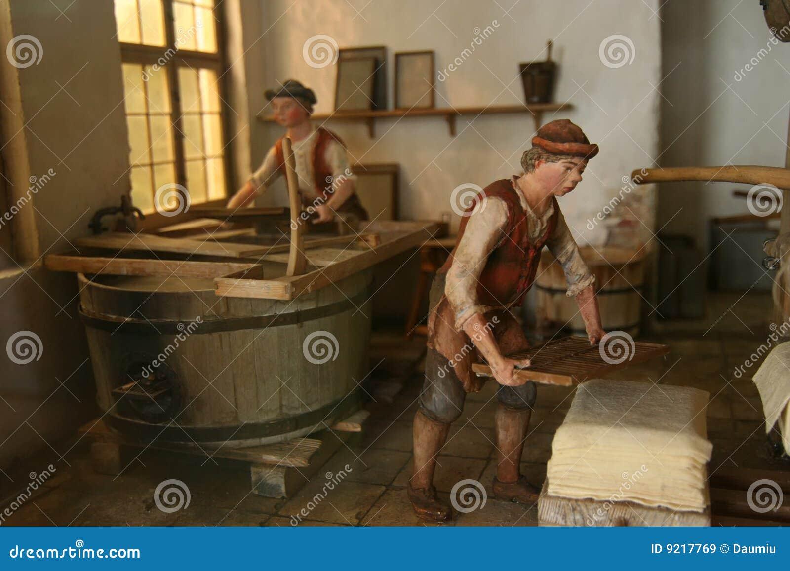 печатание фабрики традиционное