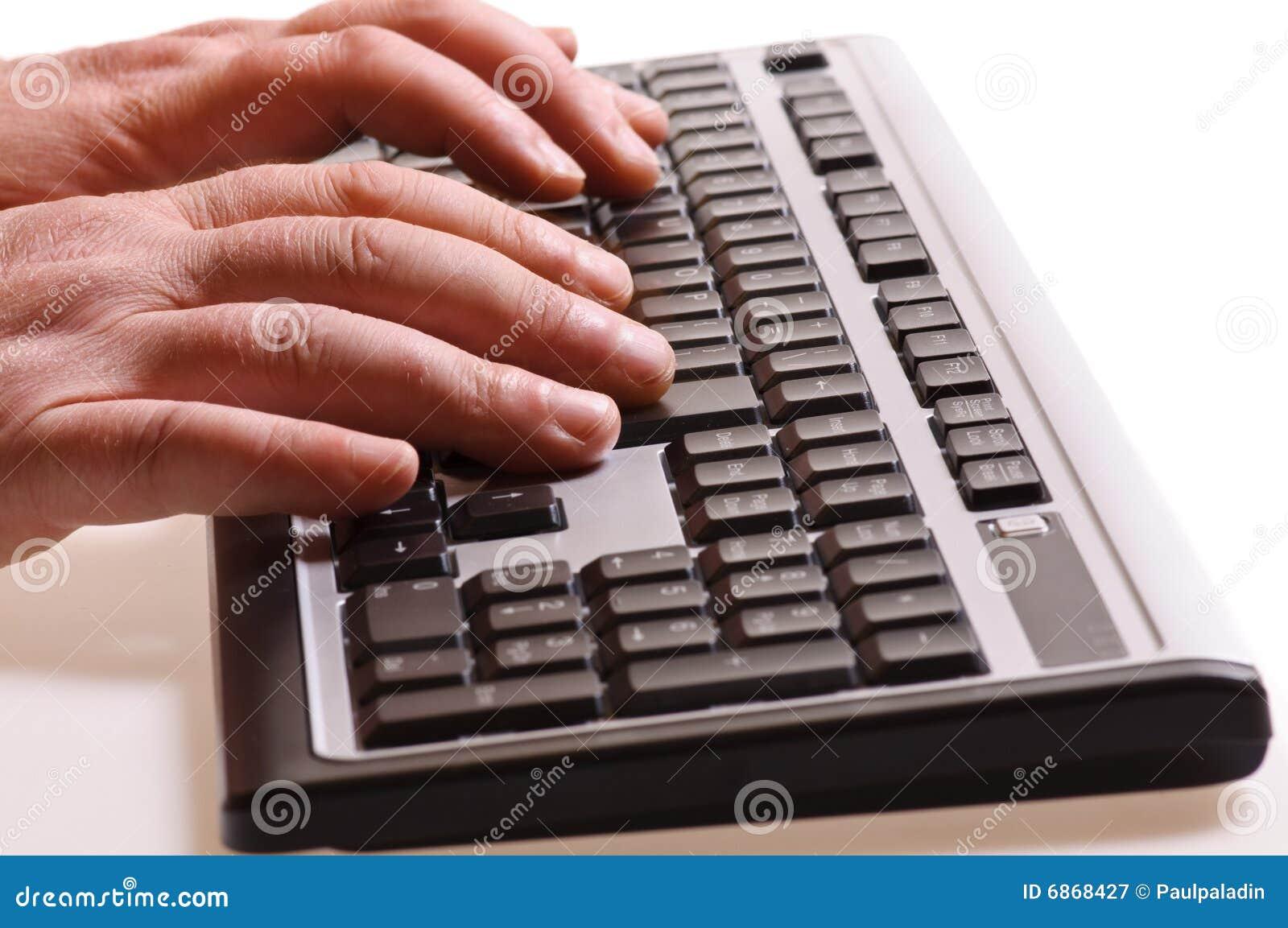 печатать на машинке клавиатуры