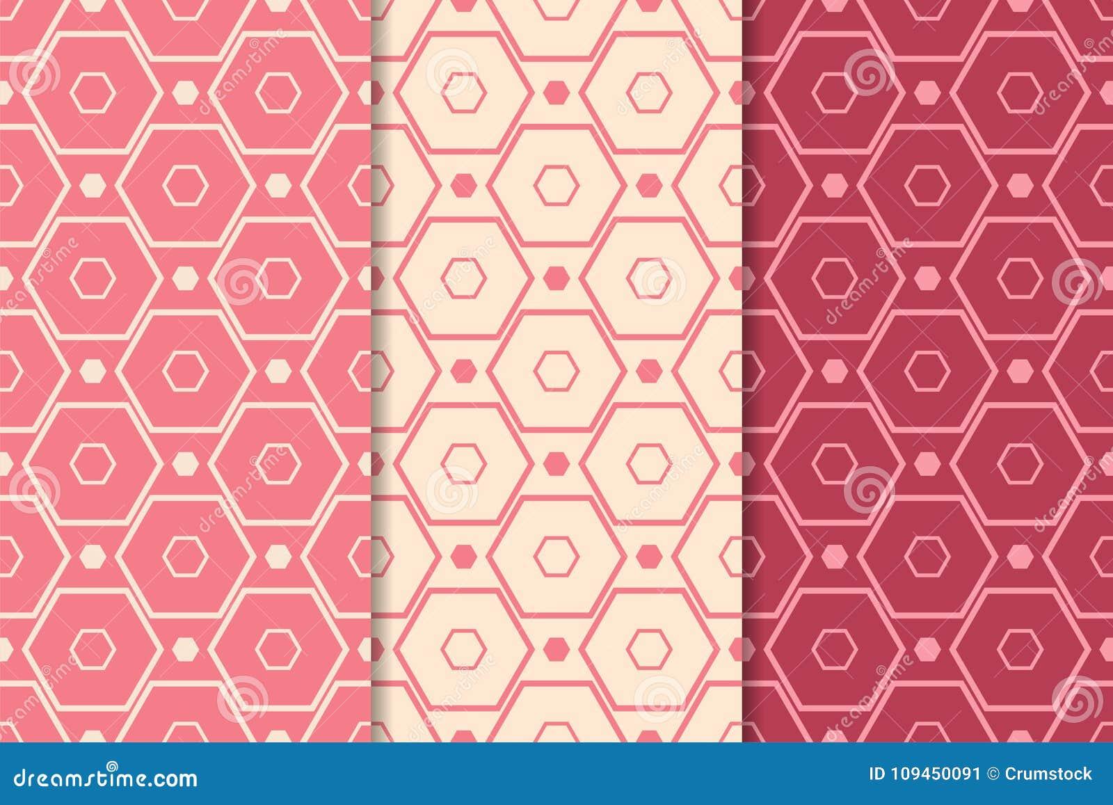 Печати красного цвета вишни геометрические делает по образцу безшовный комплект