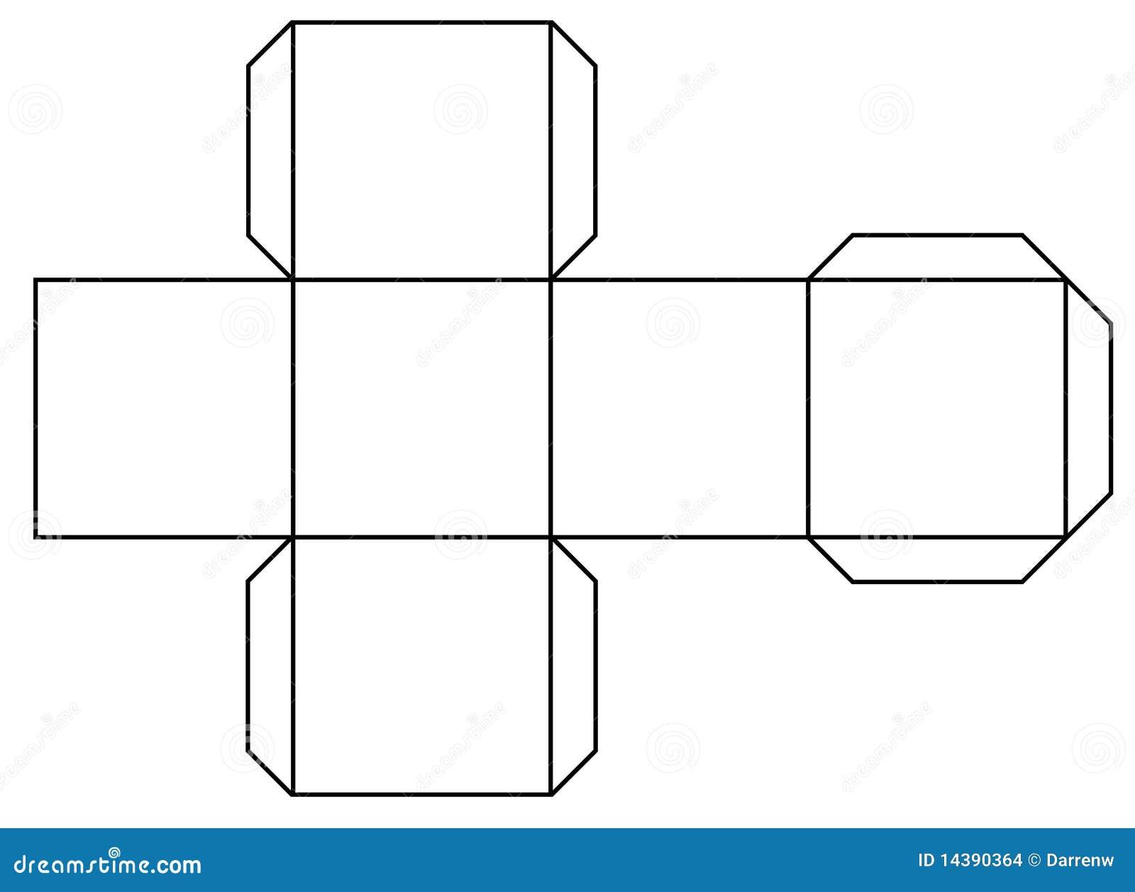 Как сделать куб и картона