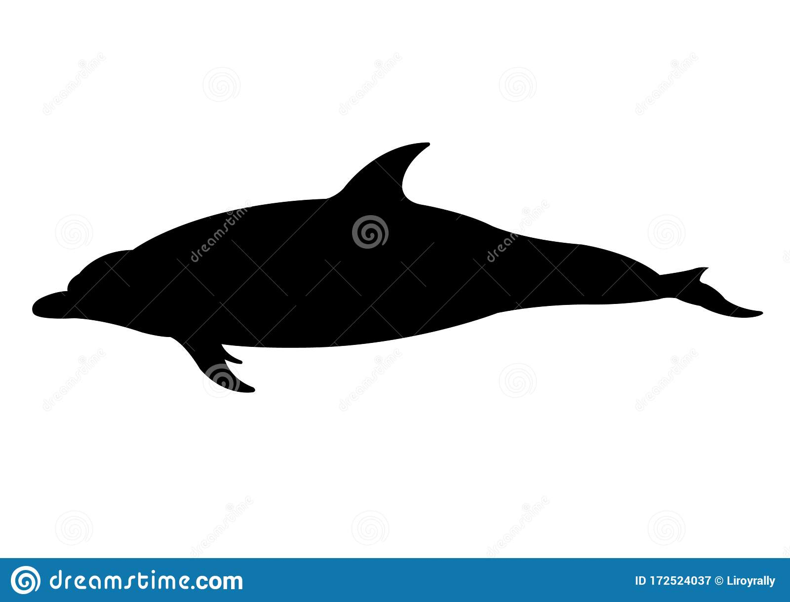 Dolphin Silhouette Vector Illustration Isolated Stock Vector Illustration Of Element Play 172524037 Download 111 dolphin silhouette free vectors. dreamstime com