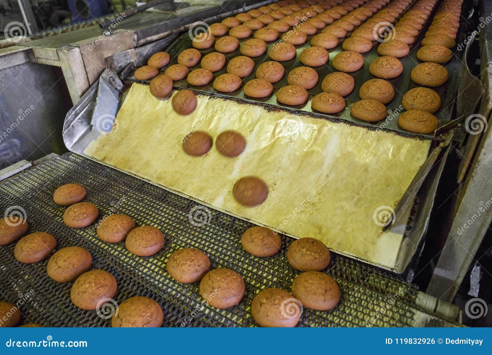 Транспортер печенья конвейер для клея