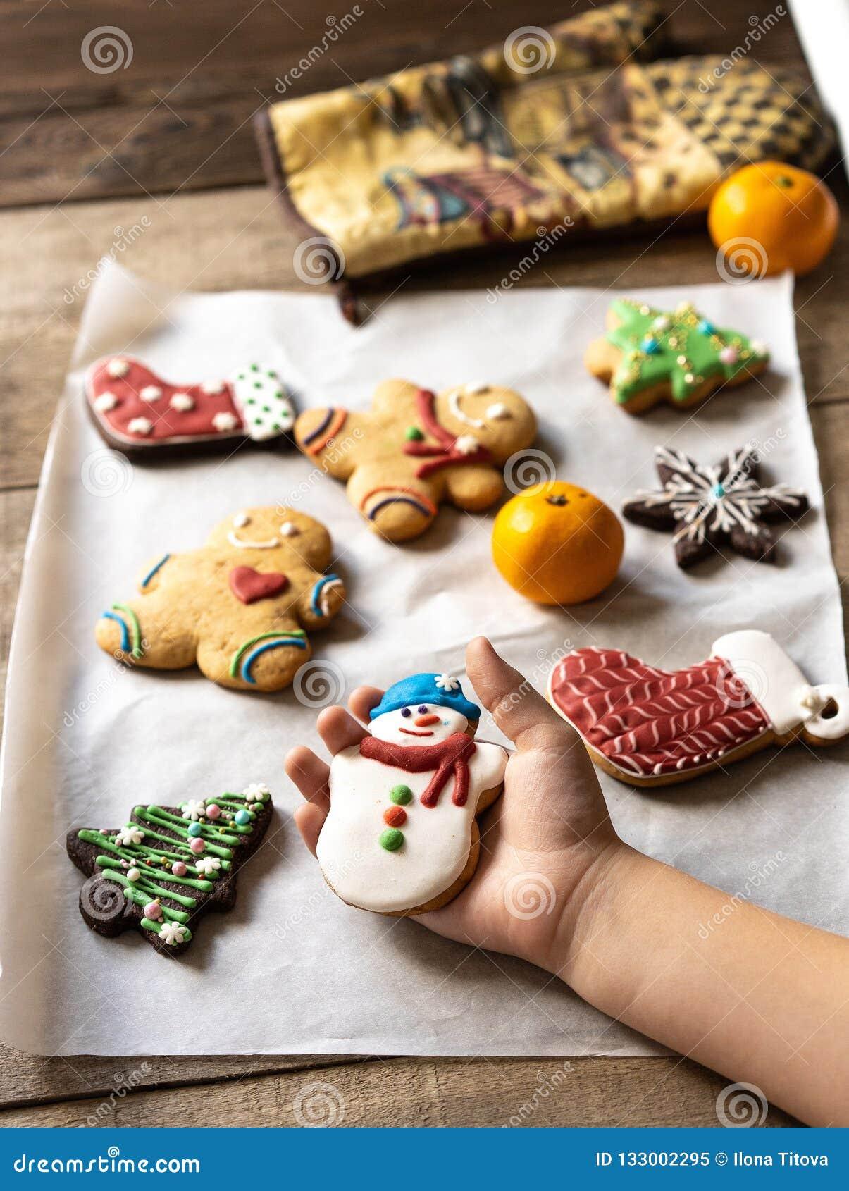 печенье пряника для рождества