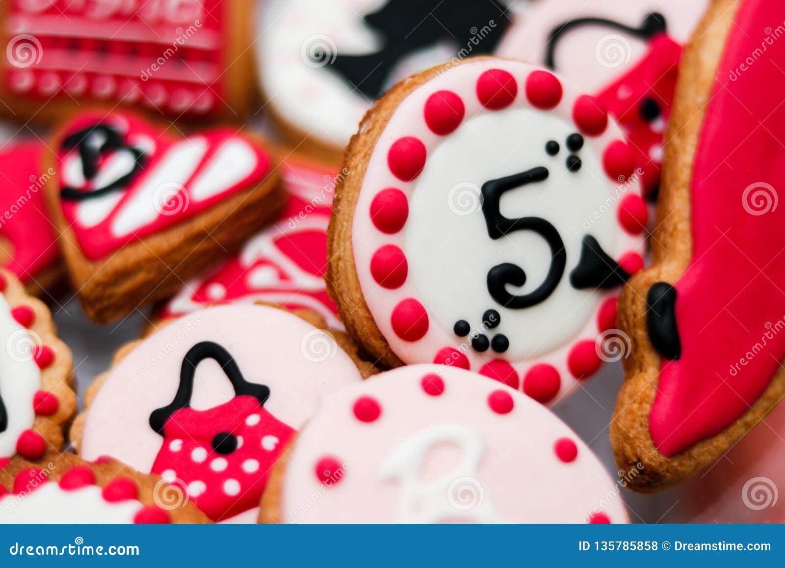 Печенья для девушки barbie