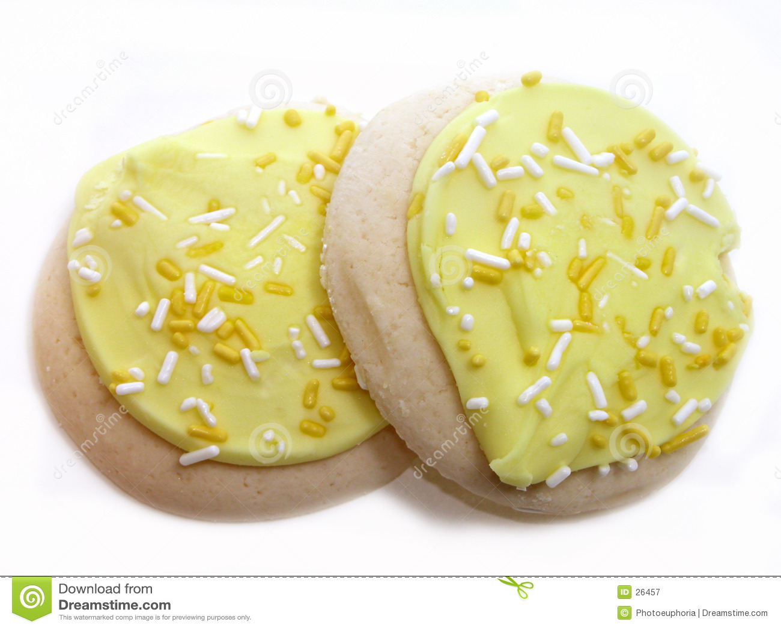 печенья заморозили сахар лимона
