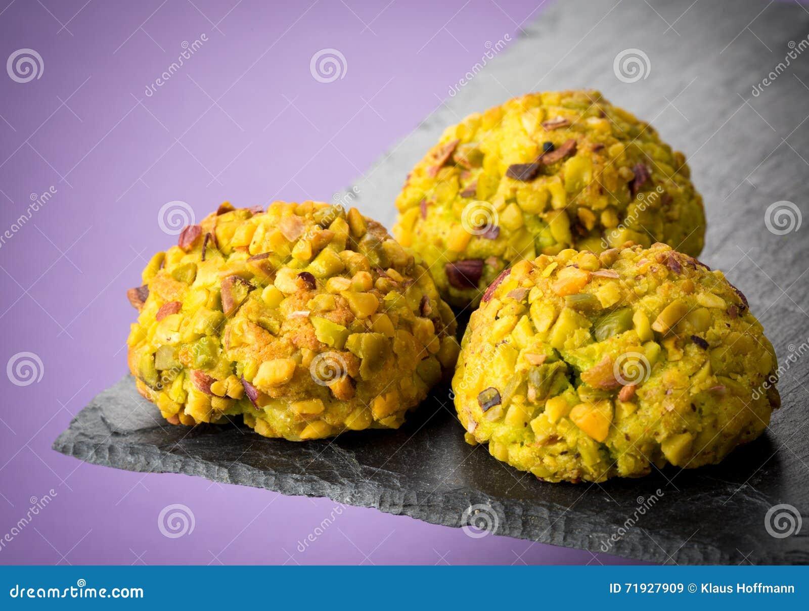 печенья Миндалин-фисташек