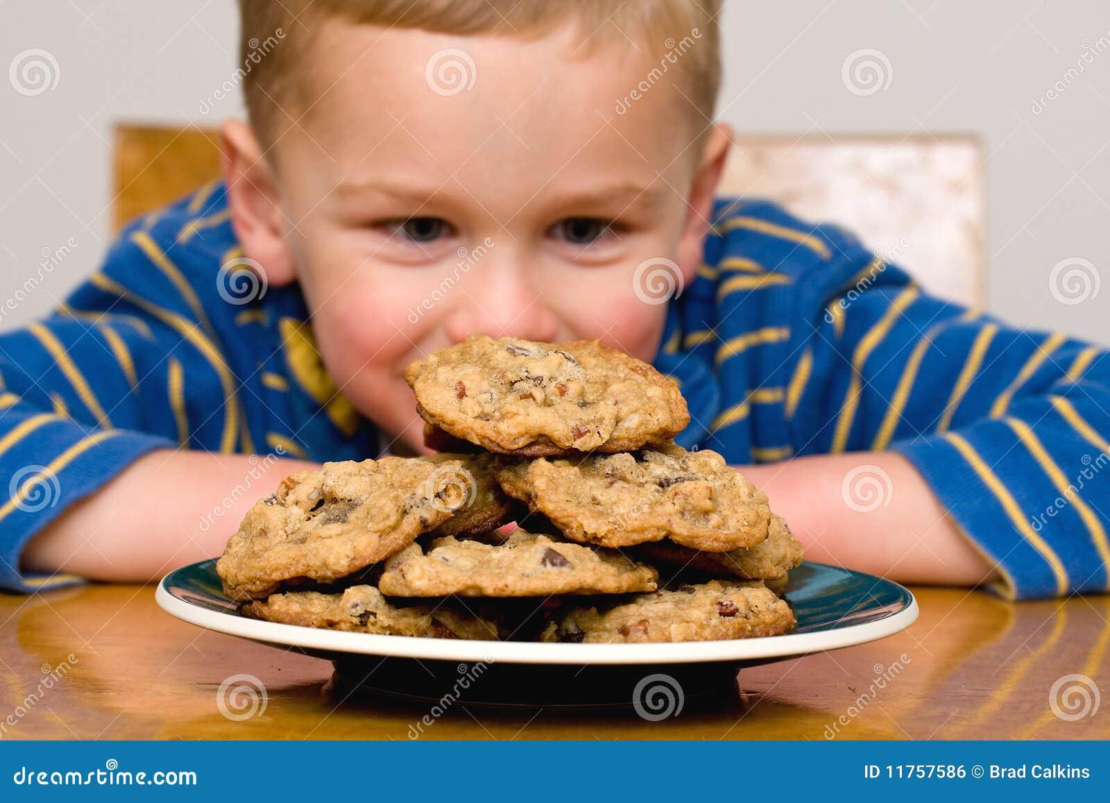 печенья ребенка