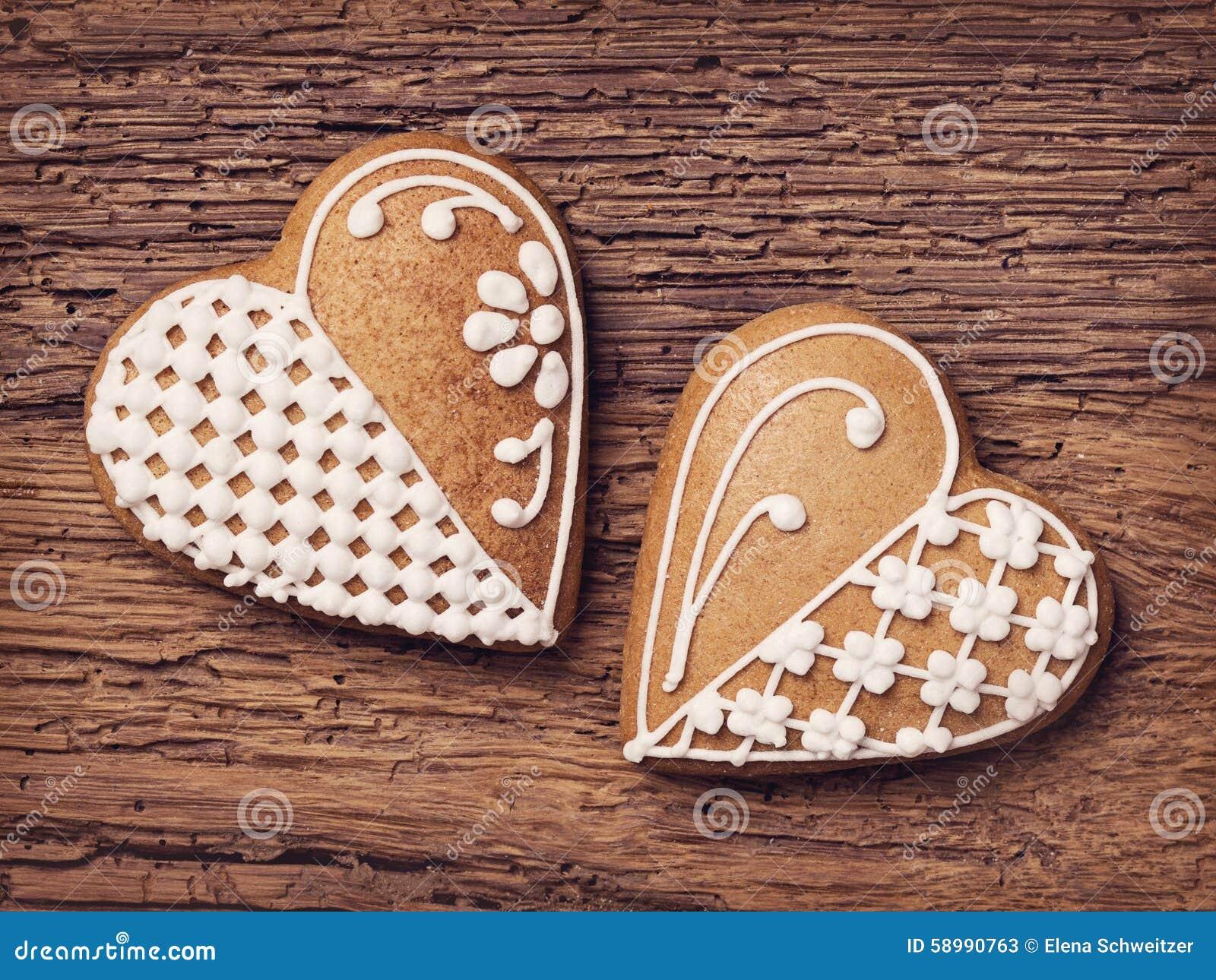 Печенья сердца пряника