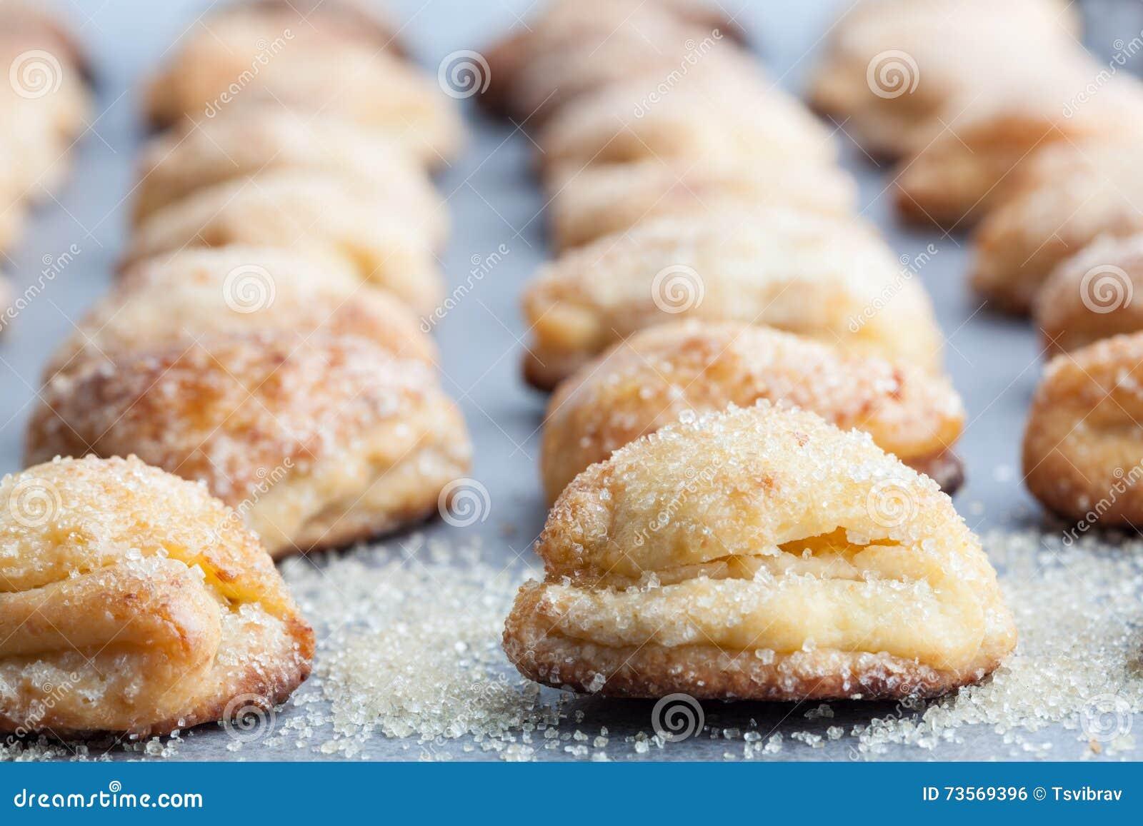 Печенье из творога с сахаром