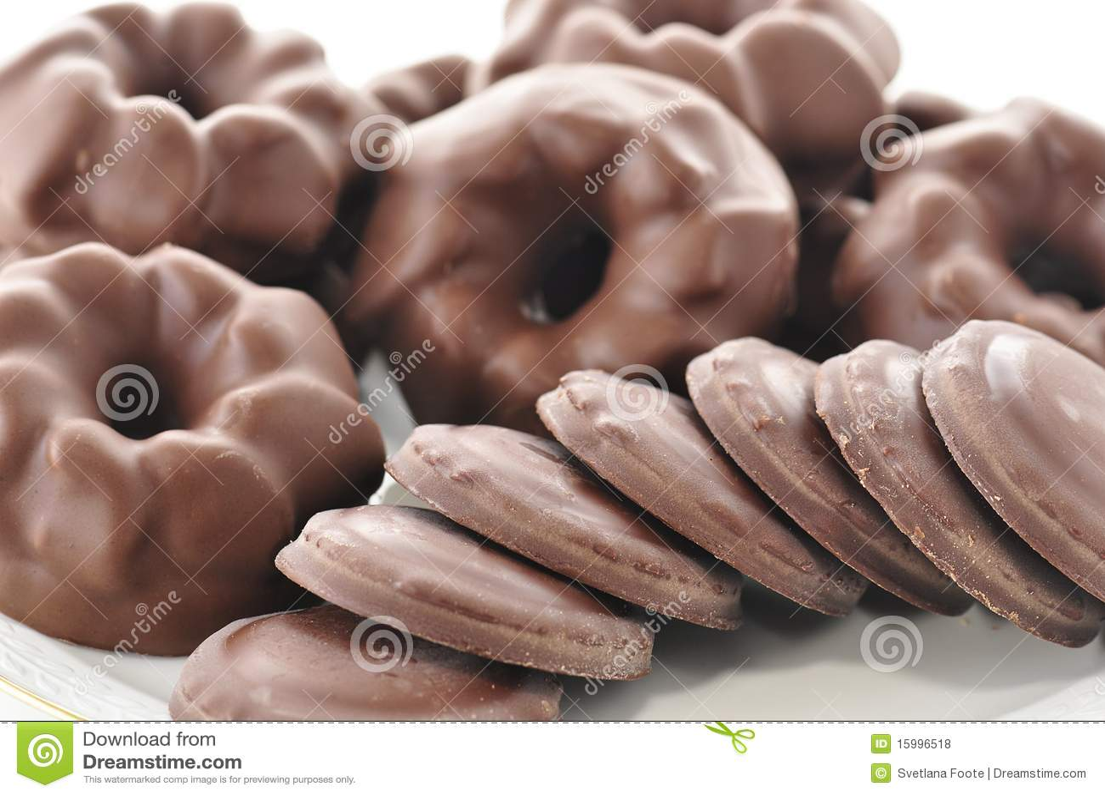 печенья шоколада
