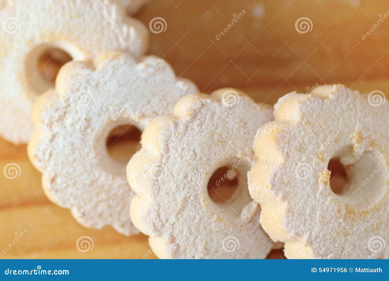 Печенья Canestrelli итальянки на таблице