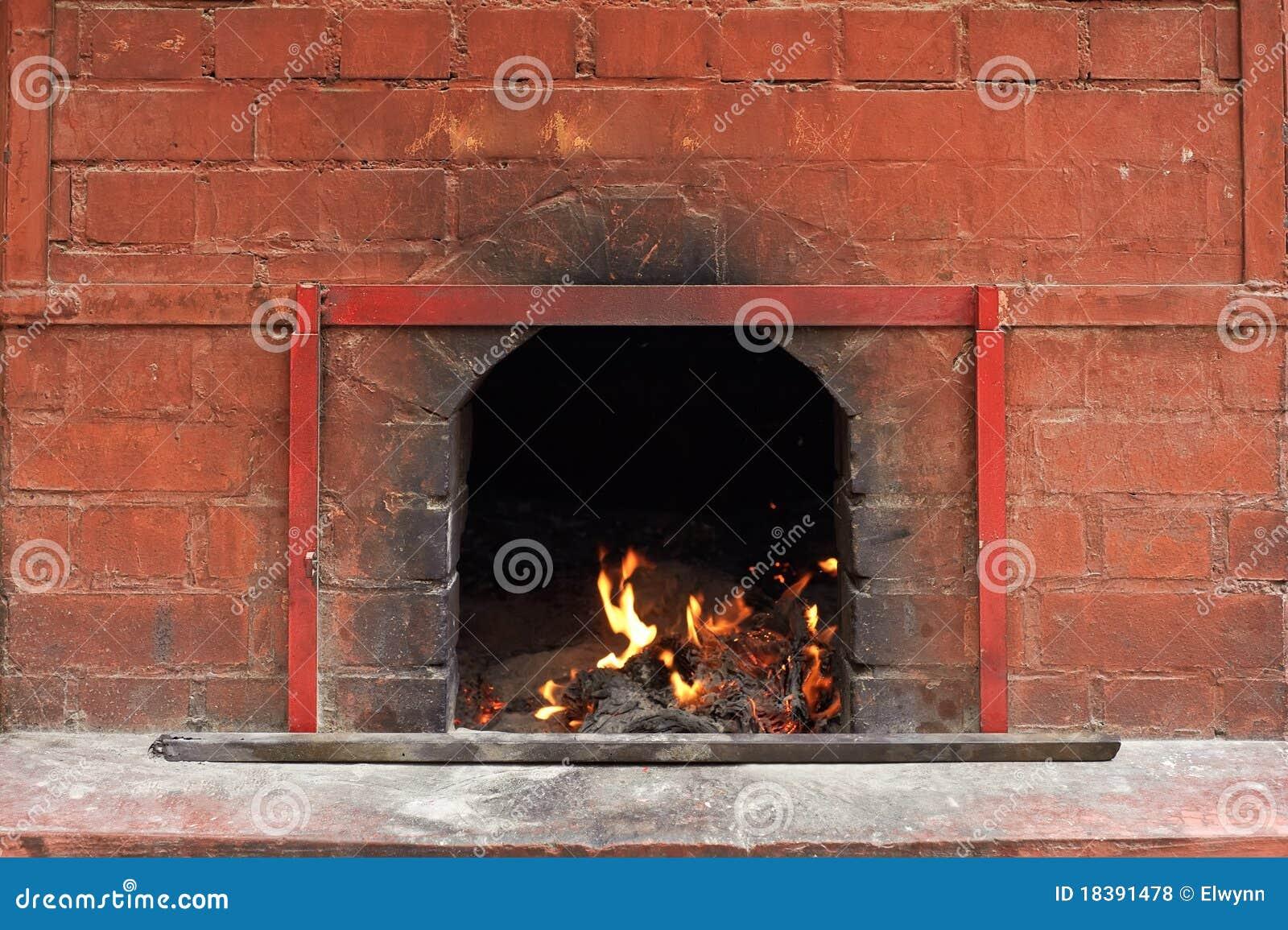 печка пожара