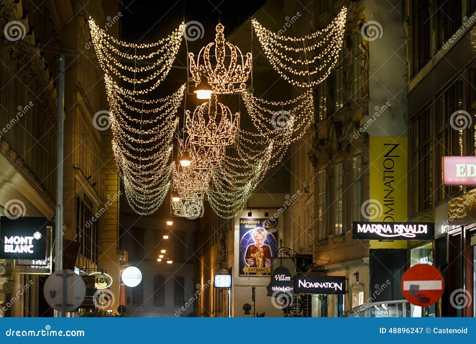 Пешеходная улица в вене