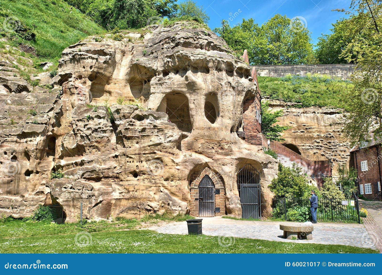 Пещеры замка Ноттингема