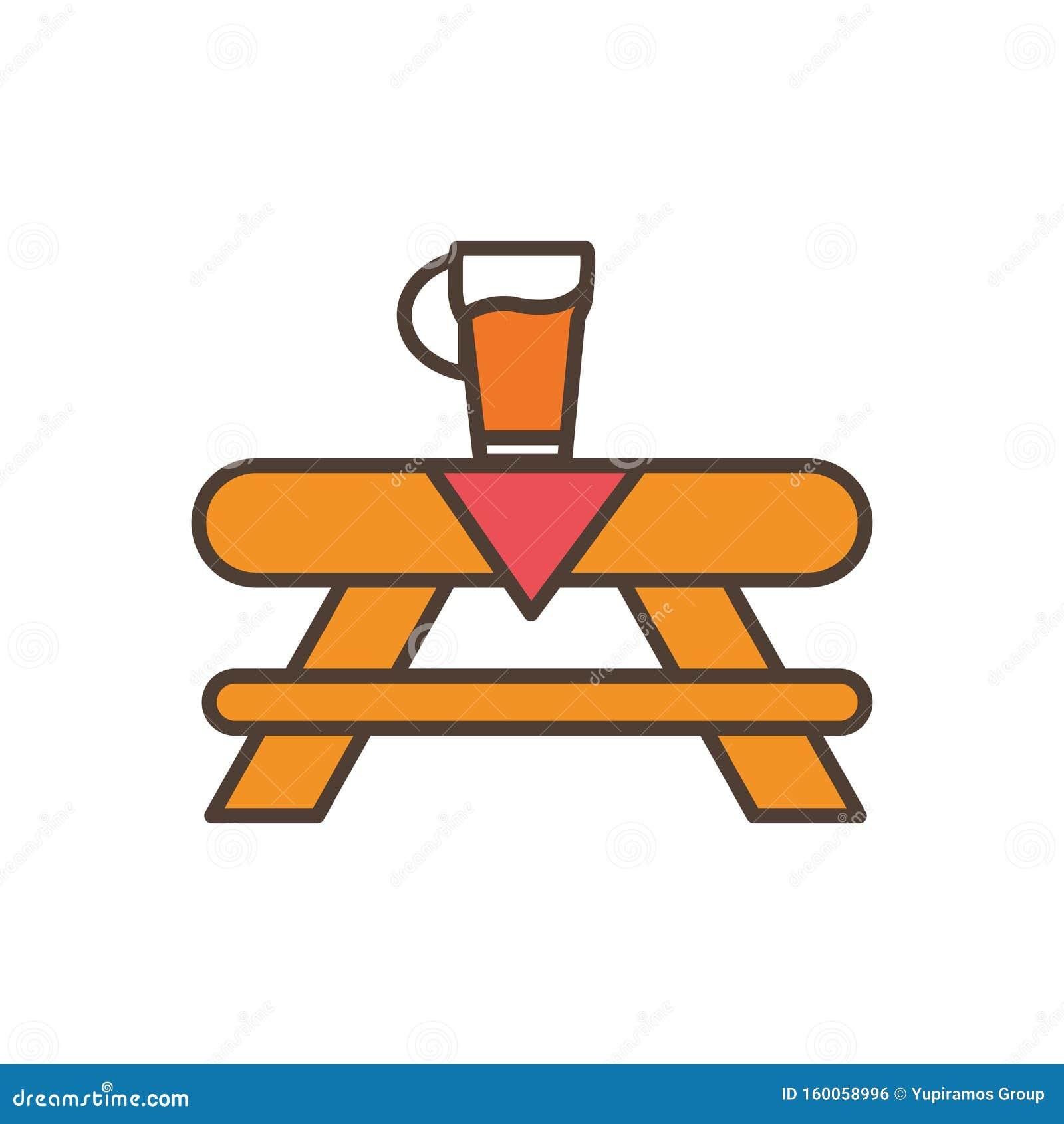 Пиво в таблице окоберфест заполнено