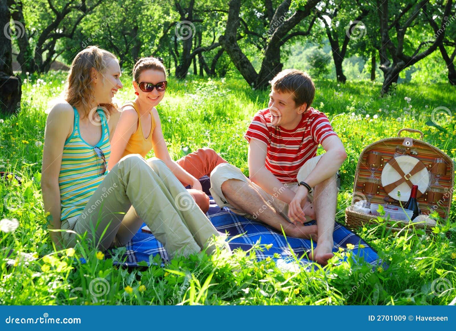 пикник друзей