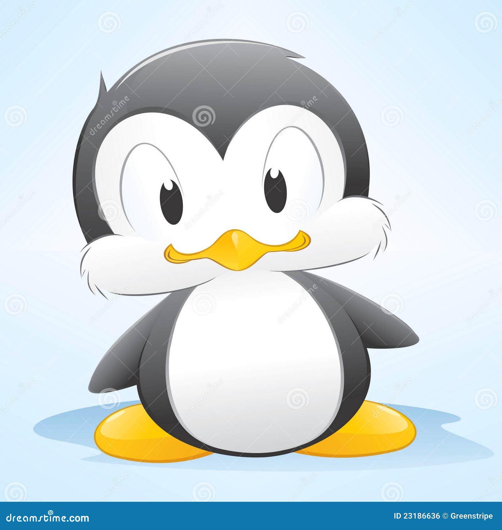 пингвин шаржа