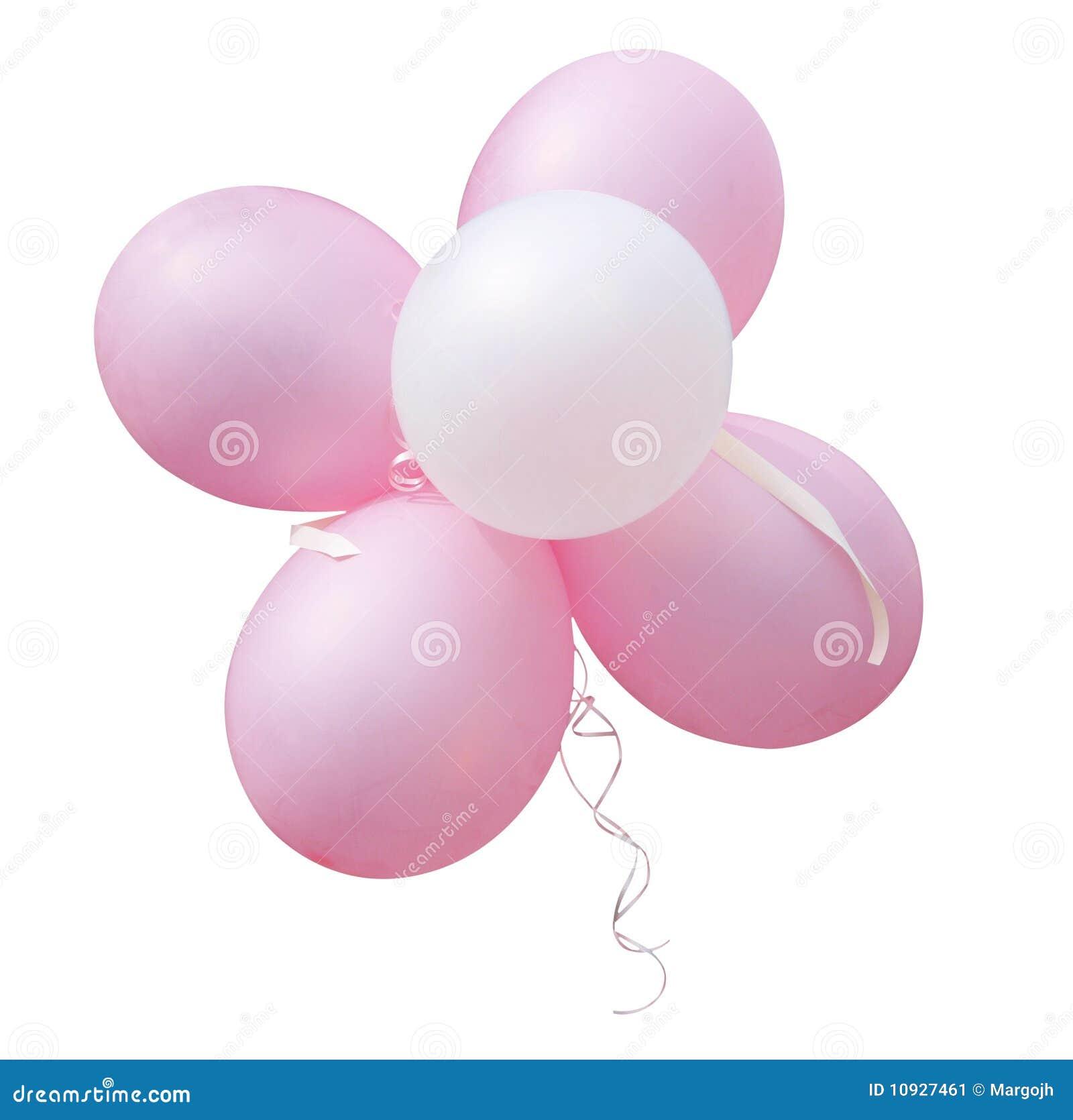 пинк пука воздушных шаров