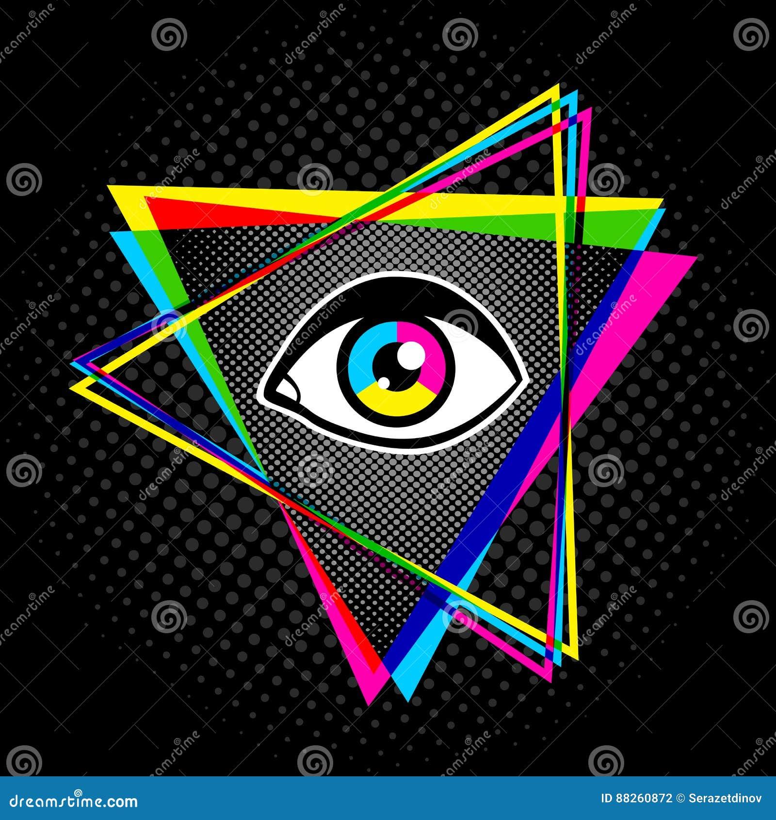 Пирамида и глаз