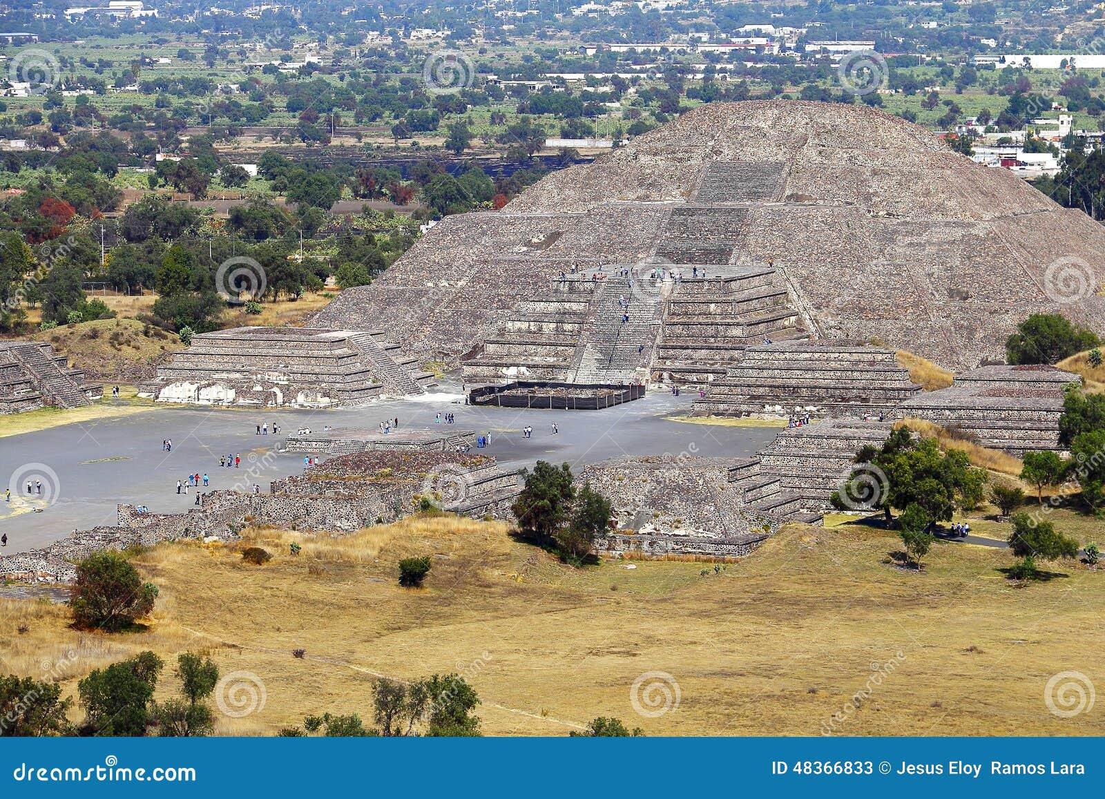 Пирамида III луны, teotihuacan