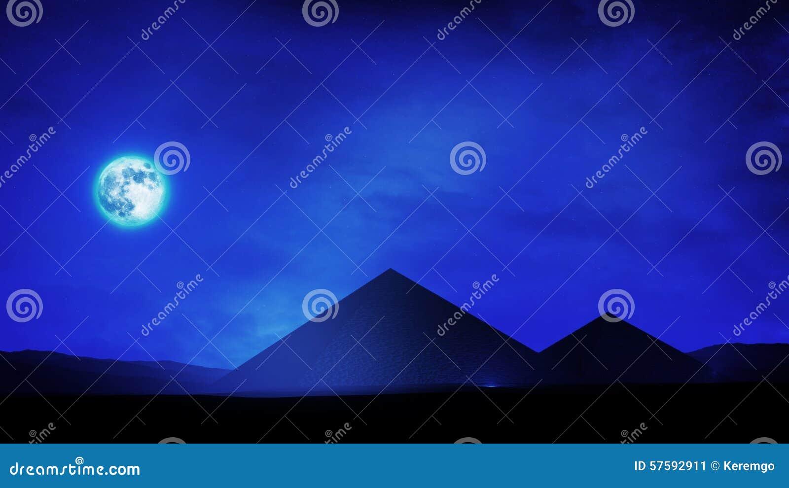 Пирамидки на ноче