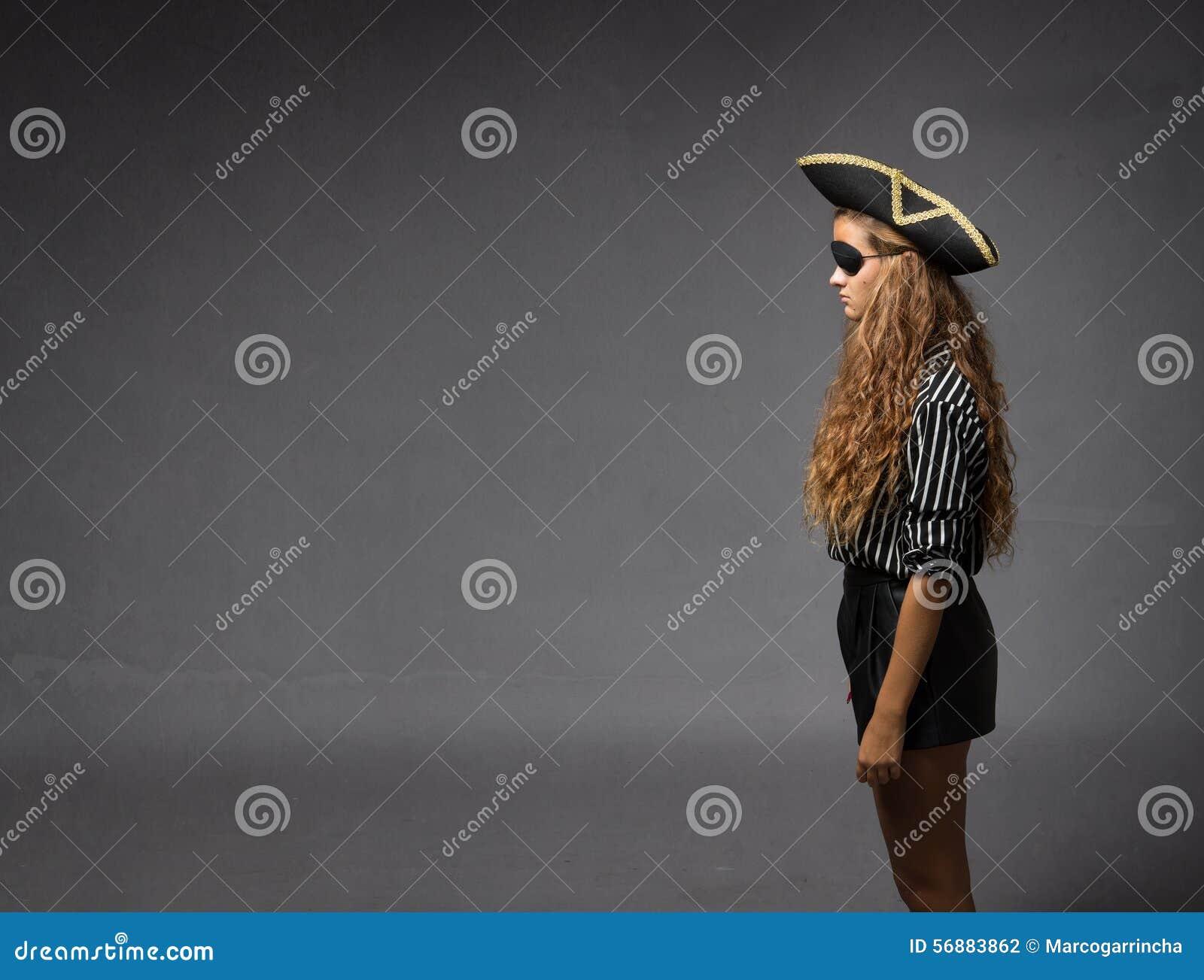Пират в просмотре профиля