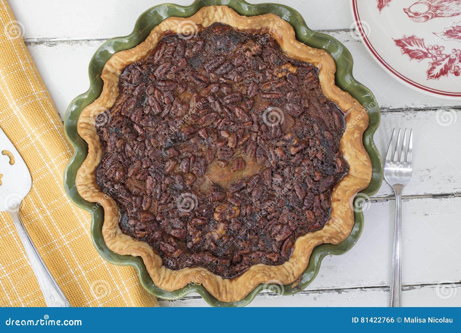 Пирог ореха-пекана — 4