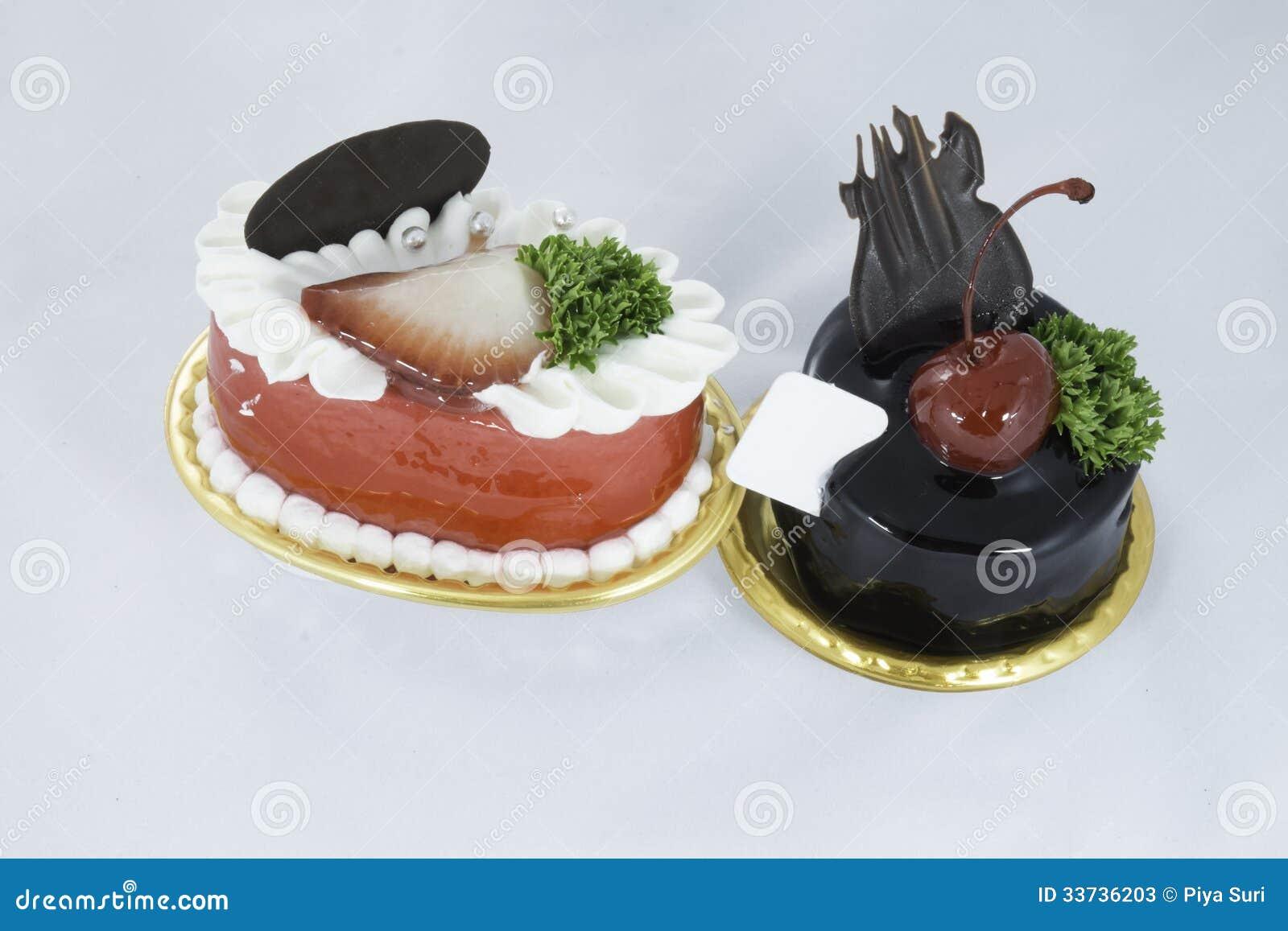 Пирожное клубники и шоколада