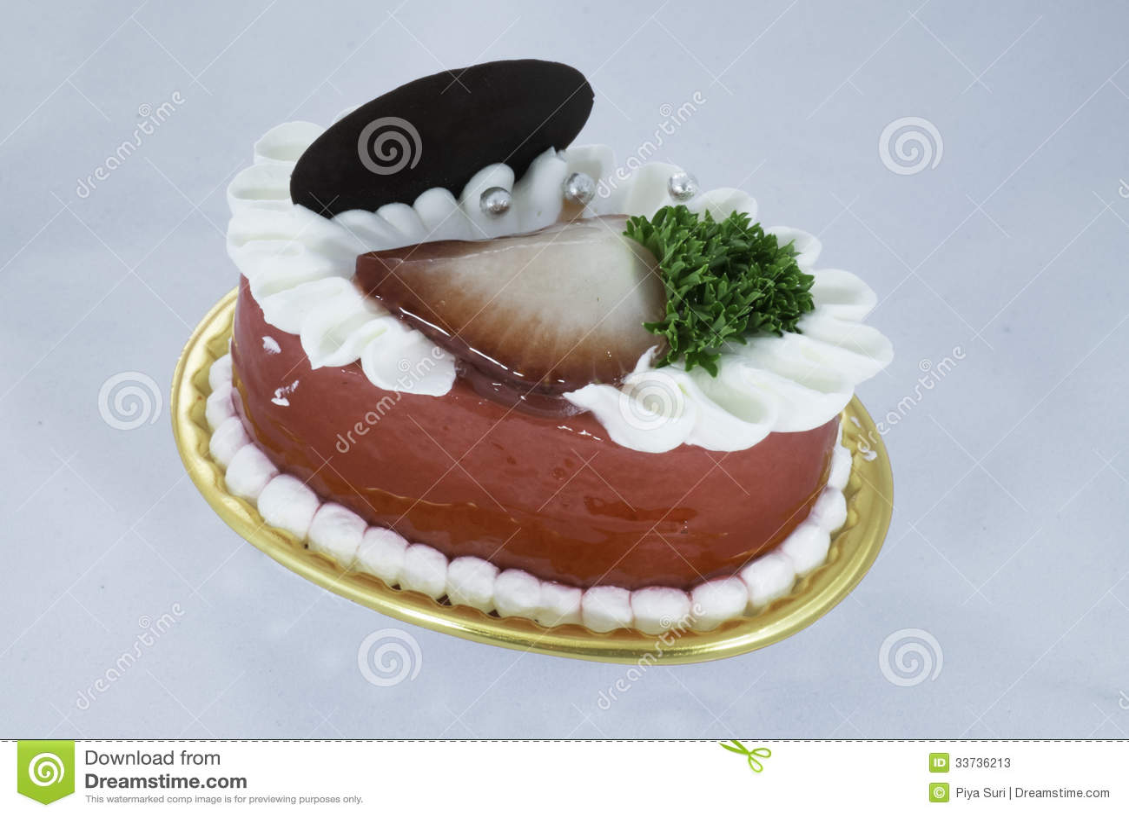 Пирожное клубники