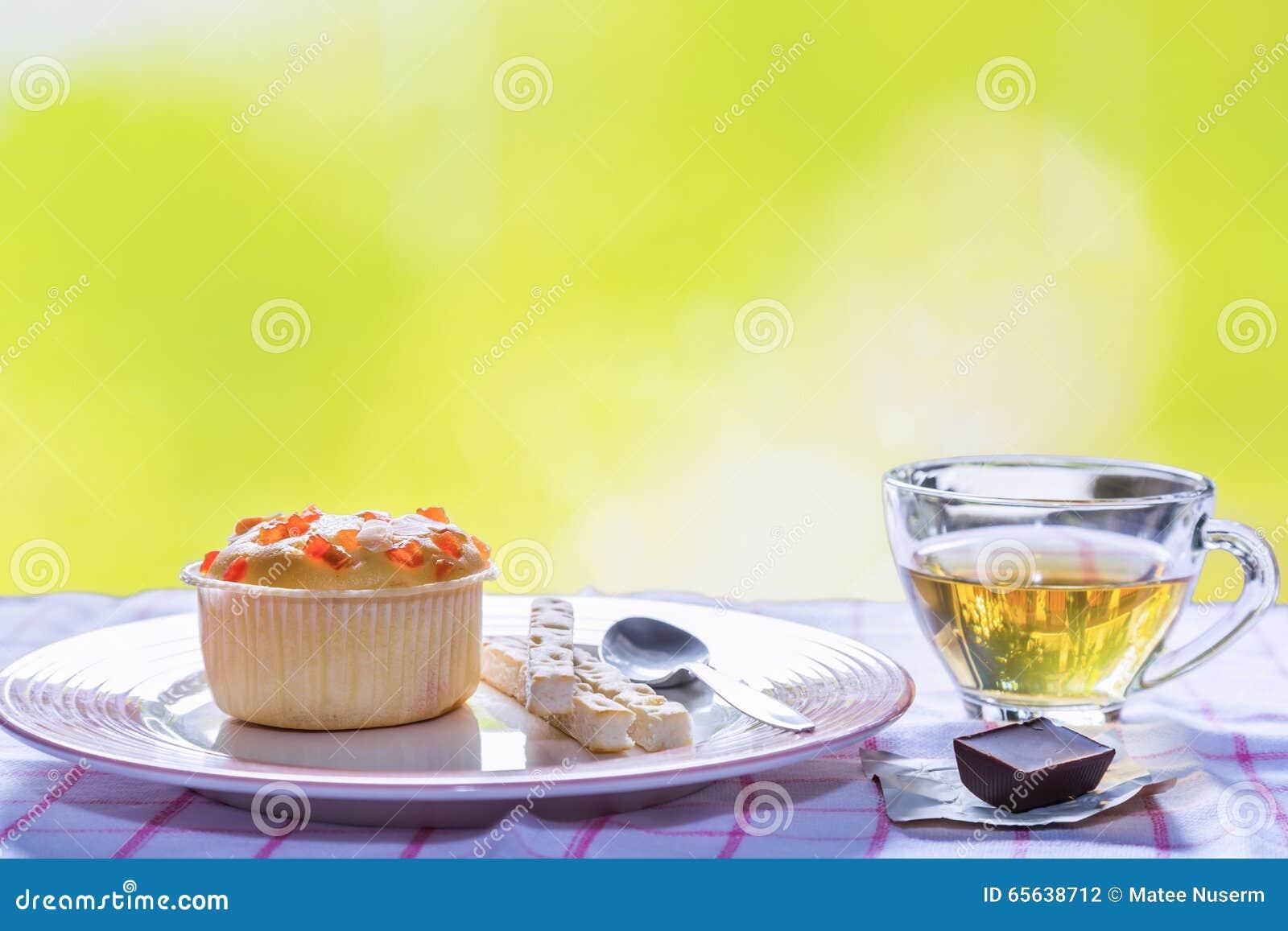 Пирожное плодоовощ заполняя
