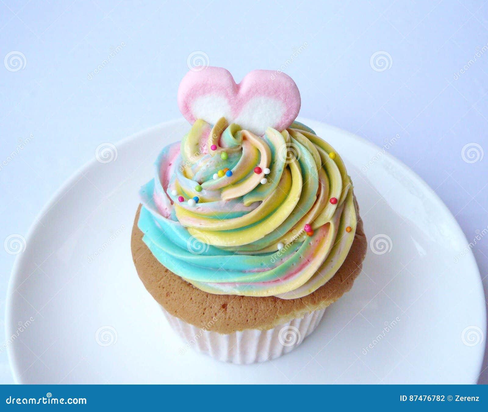 Пирожное радуги