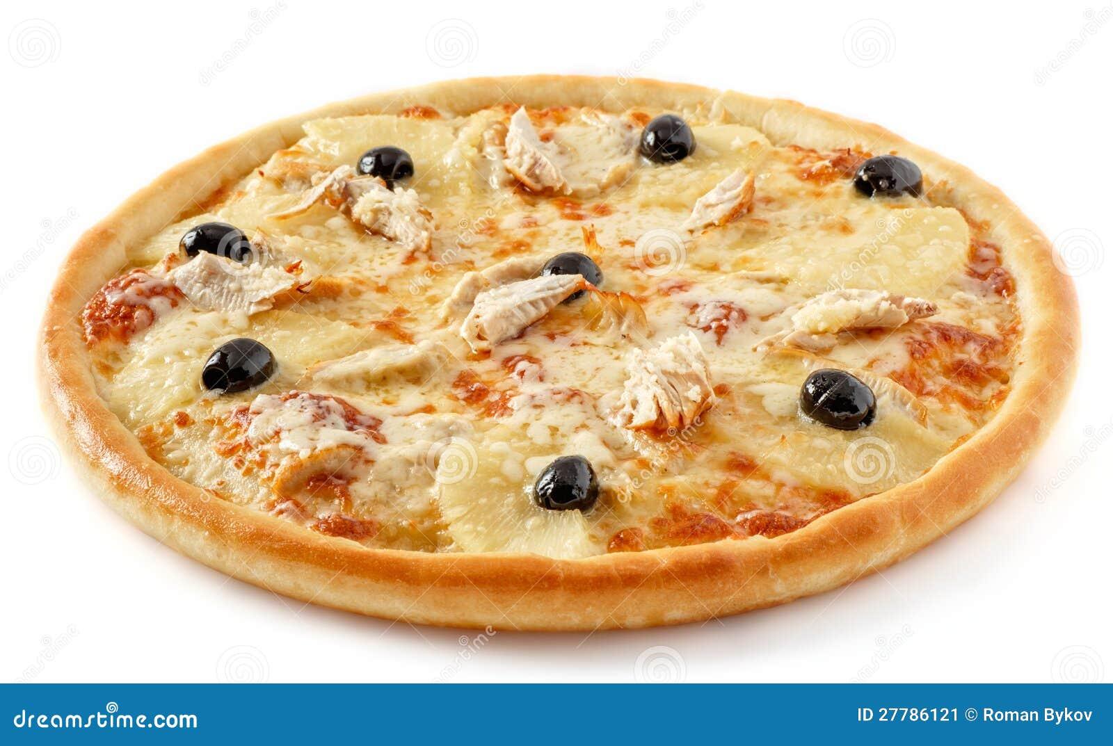 Пицца ананаса цыпленка