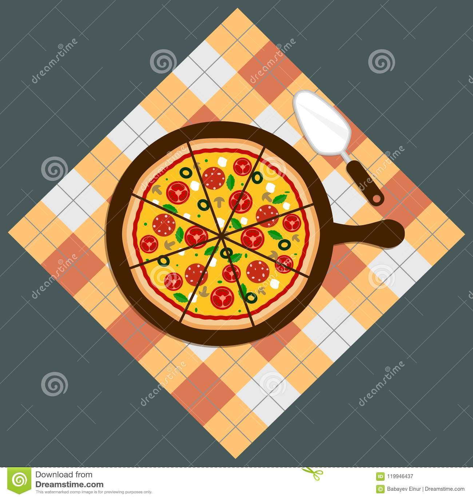 Пицца Поставка пиццы Пицца на предпосылке доски Бар пиццы Меню пиццы