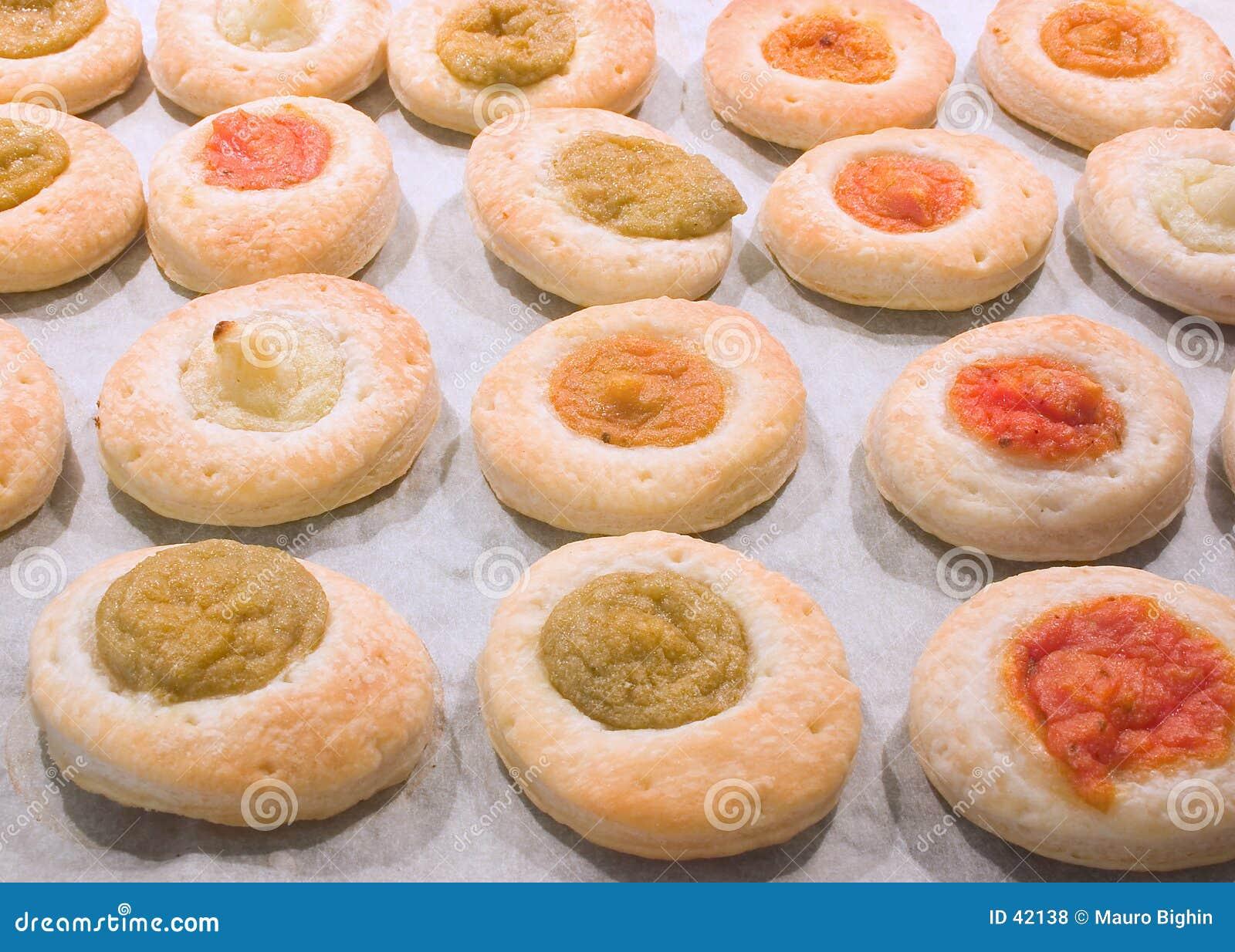 пиццы печенья малые