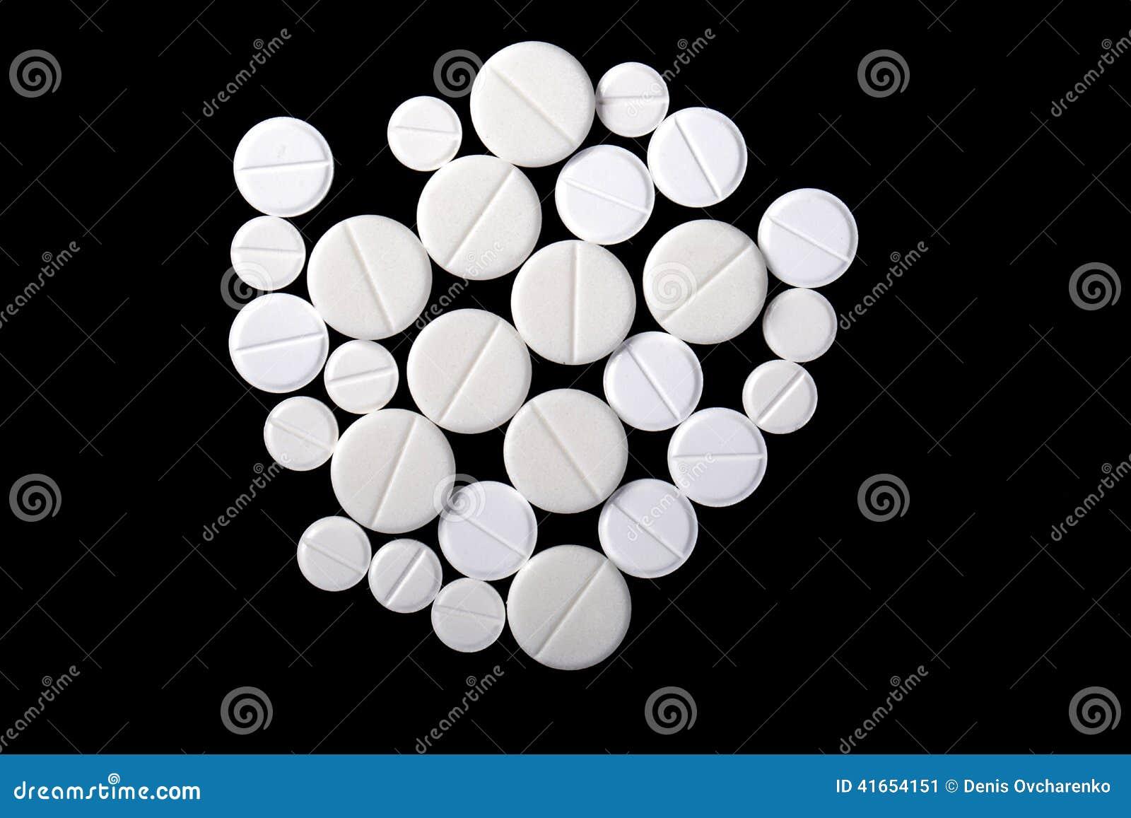 пилюльки микстуры белые