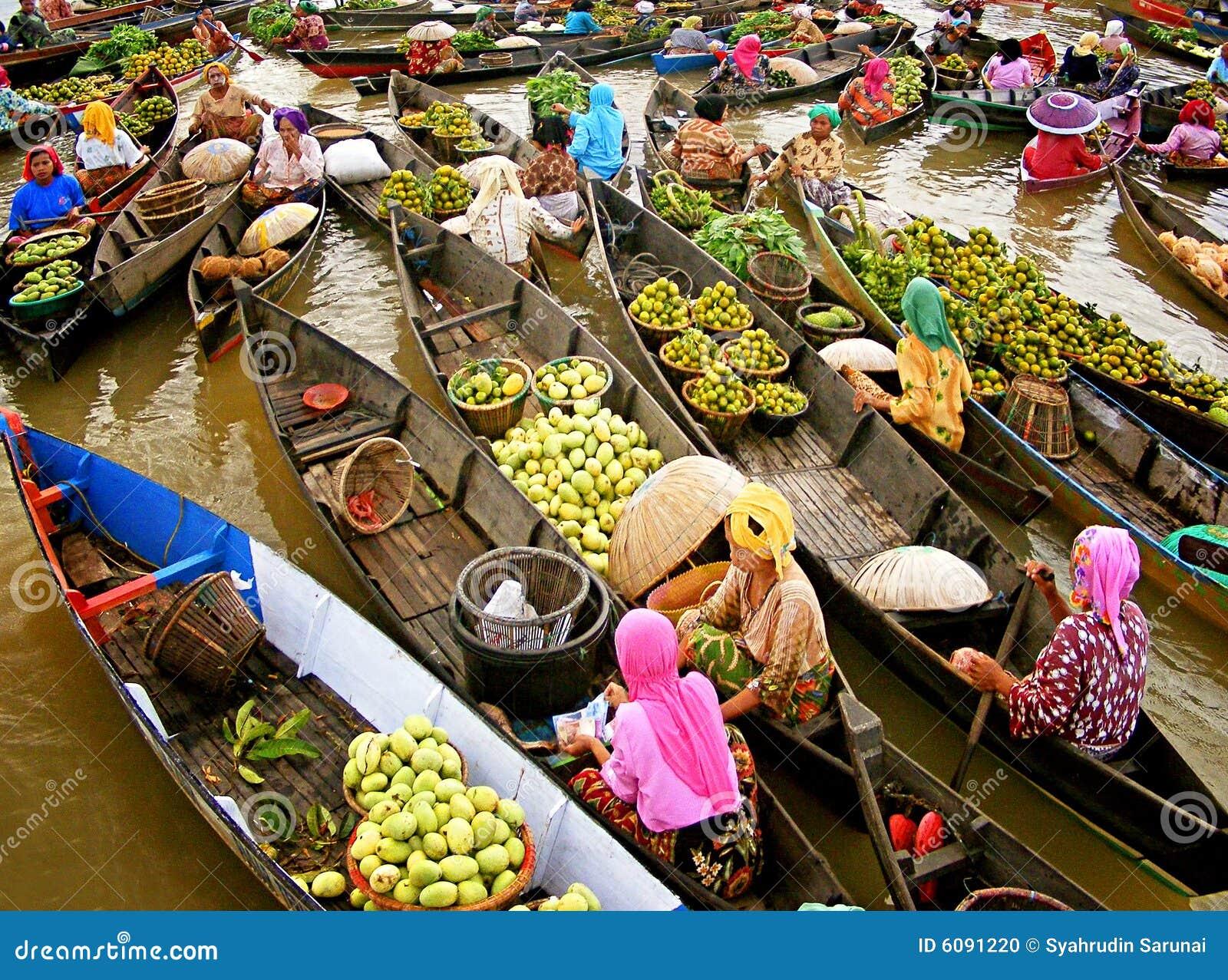 плавая lokbaintan рынок