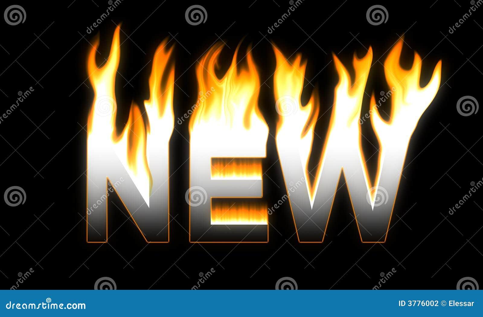пламенеющая новая