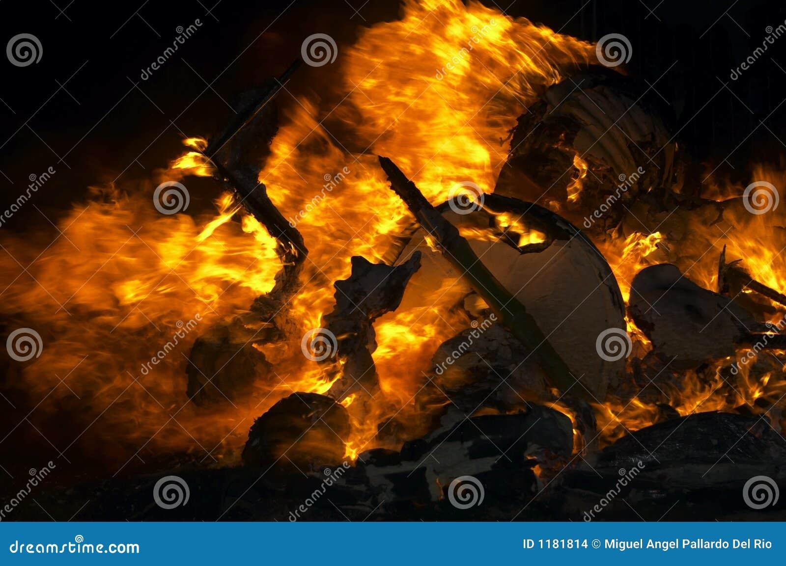 пламя предпосылки