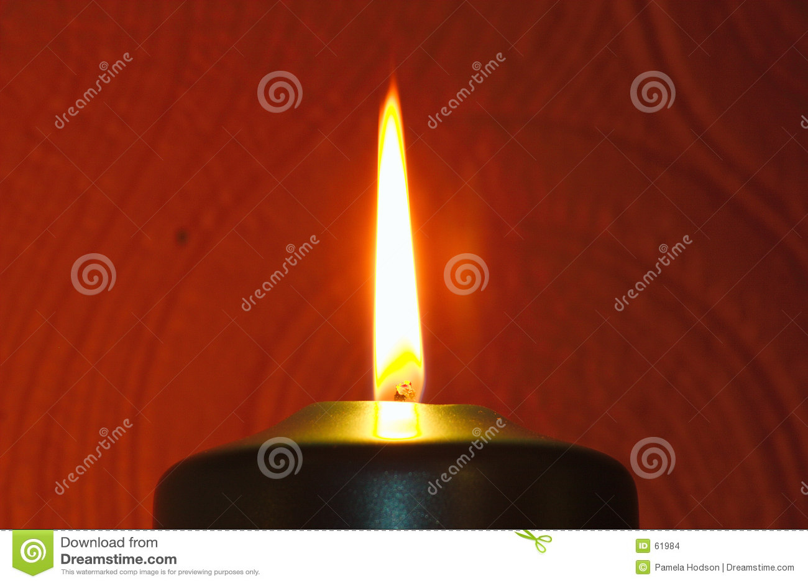 пламя свечки
