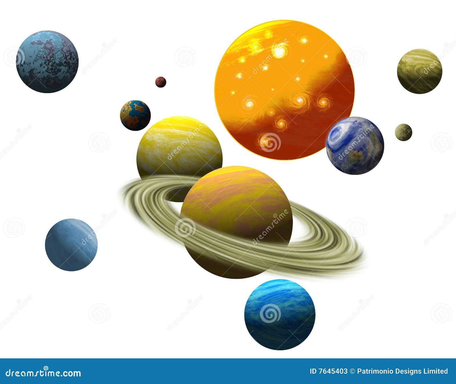 планетарная солнечная система