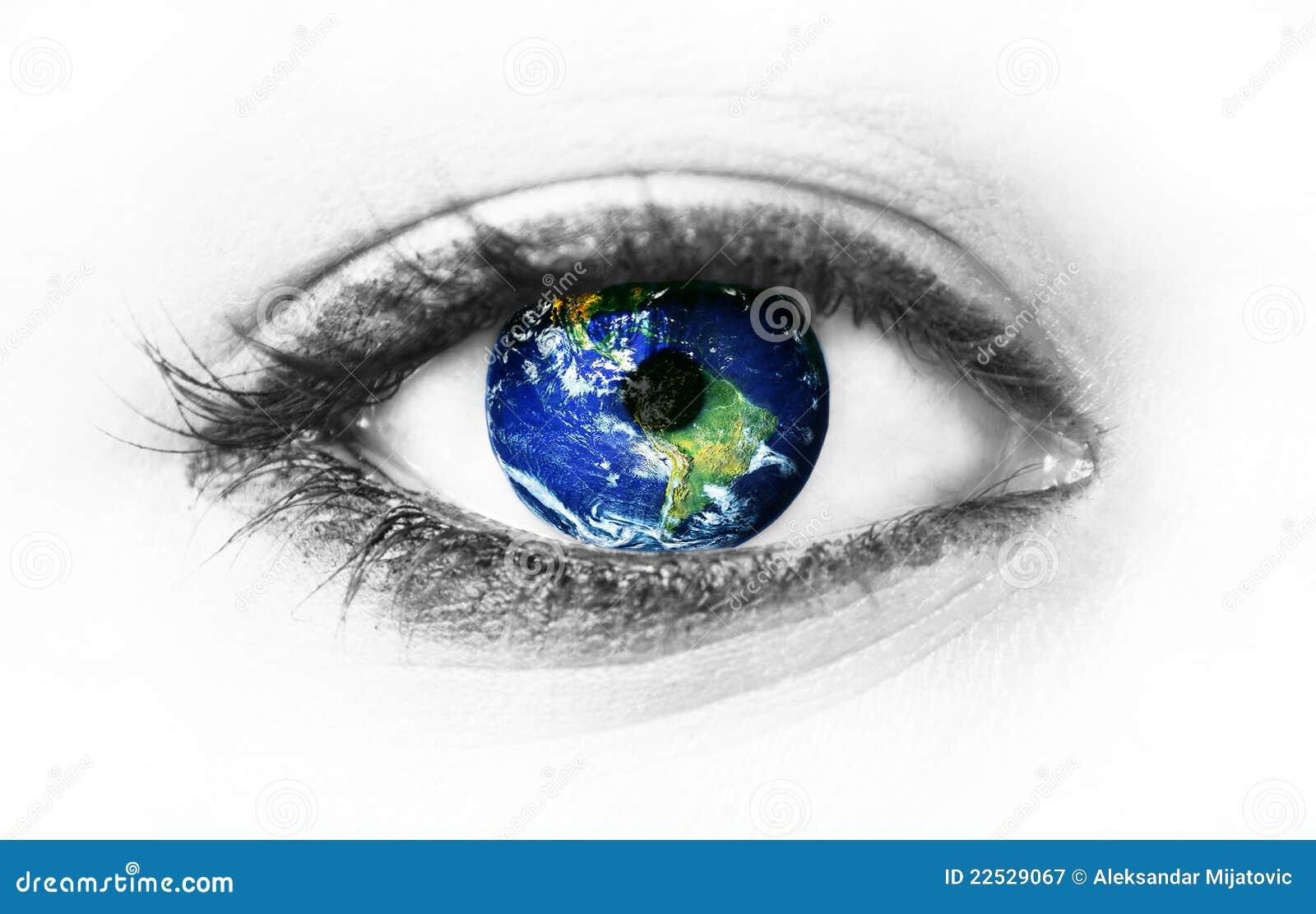 планета глаза земли