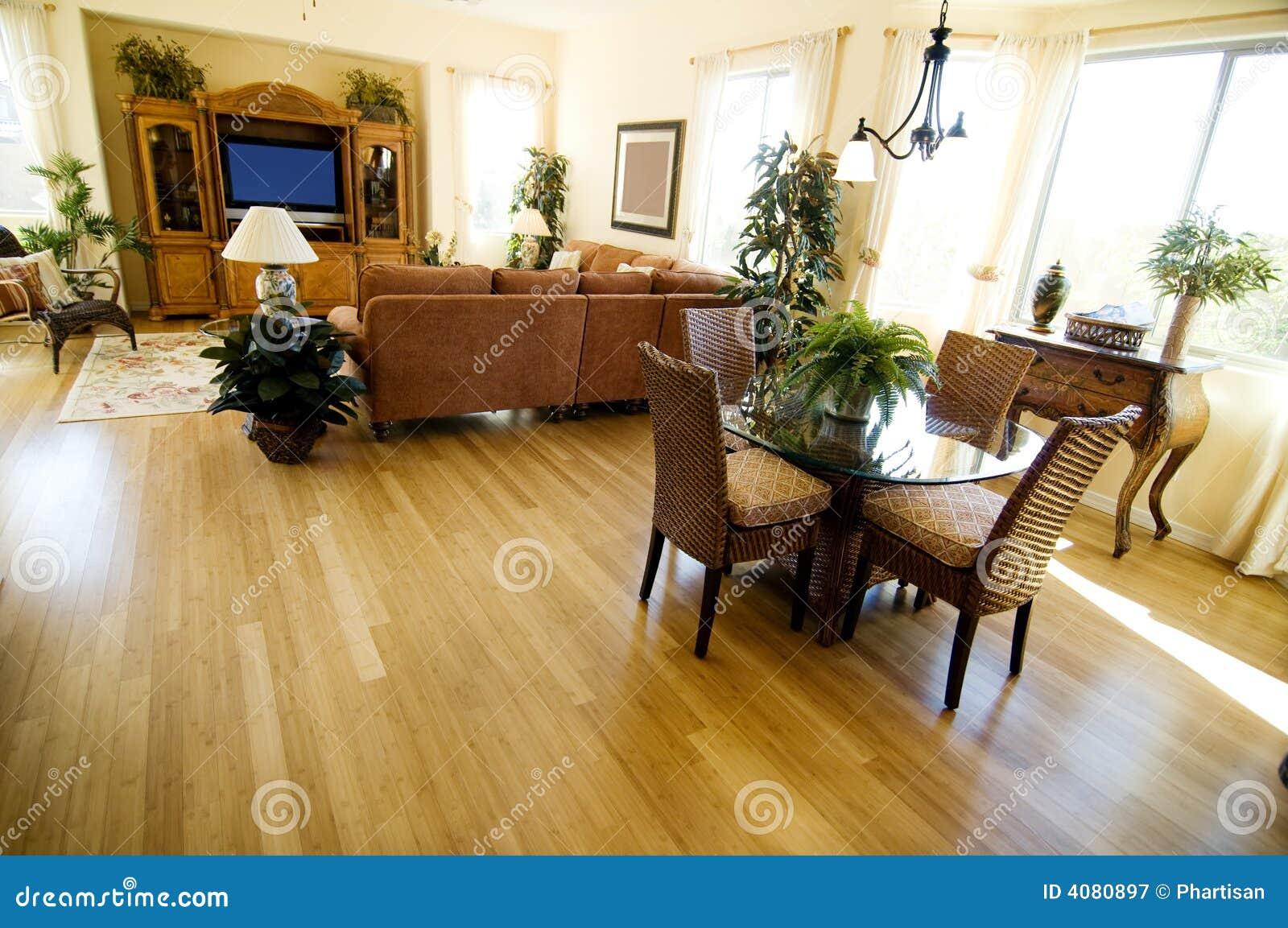 план дома твёрдой древесины настила открытый