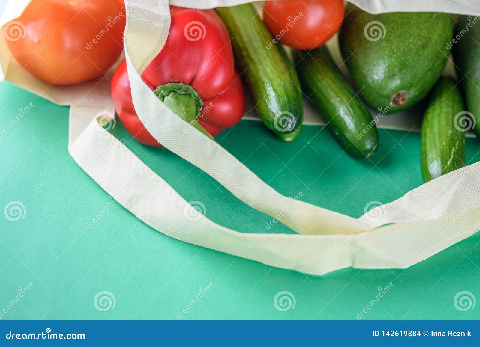 Пластиковые свободные покупки Продукты фермеров органические