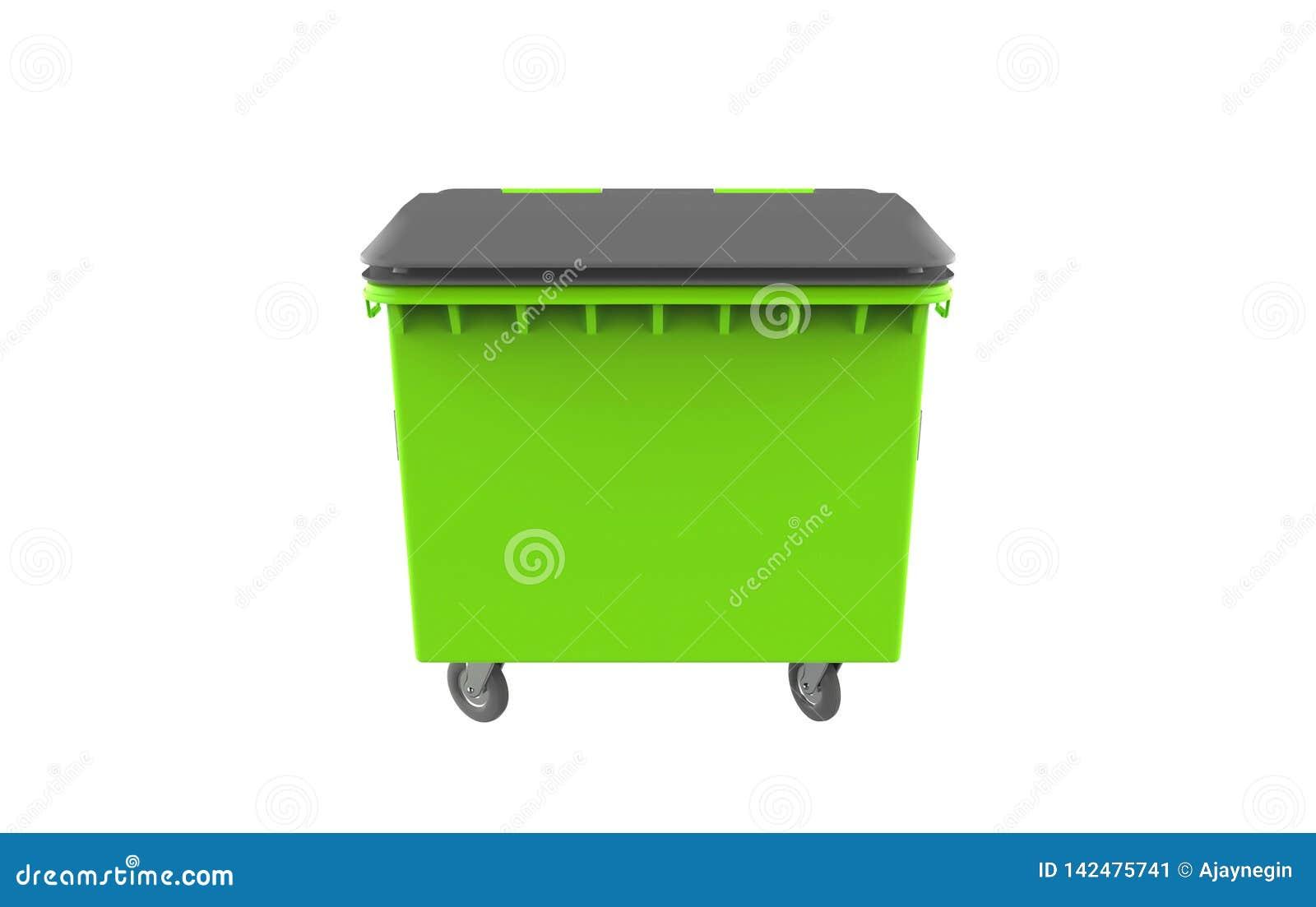 Пластиковый контейнер отброса