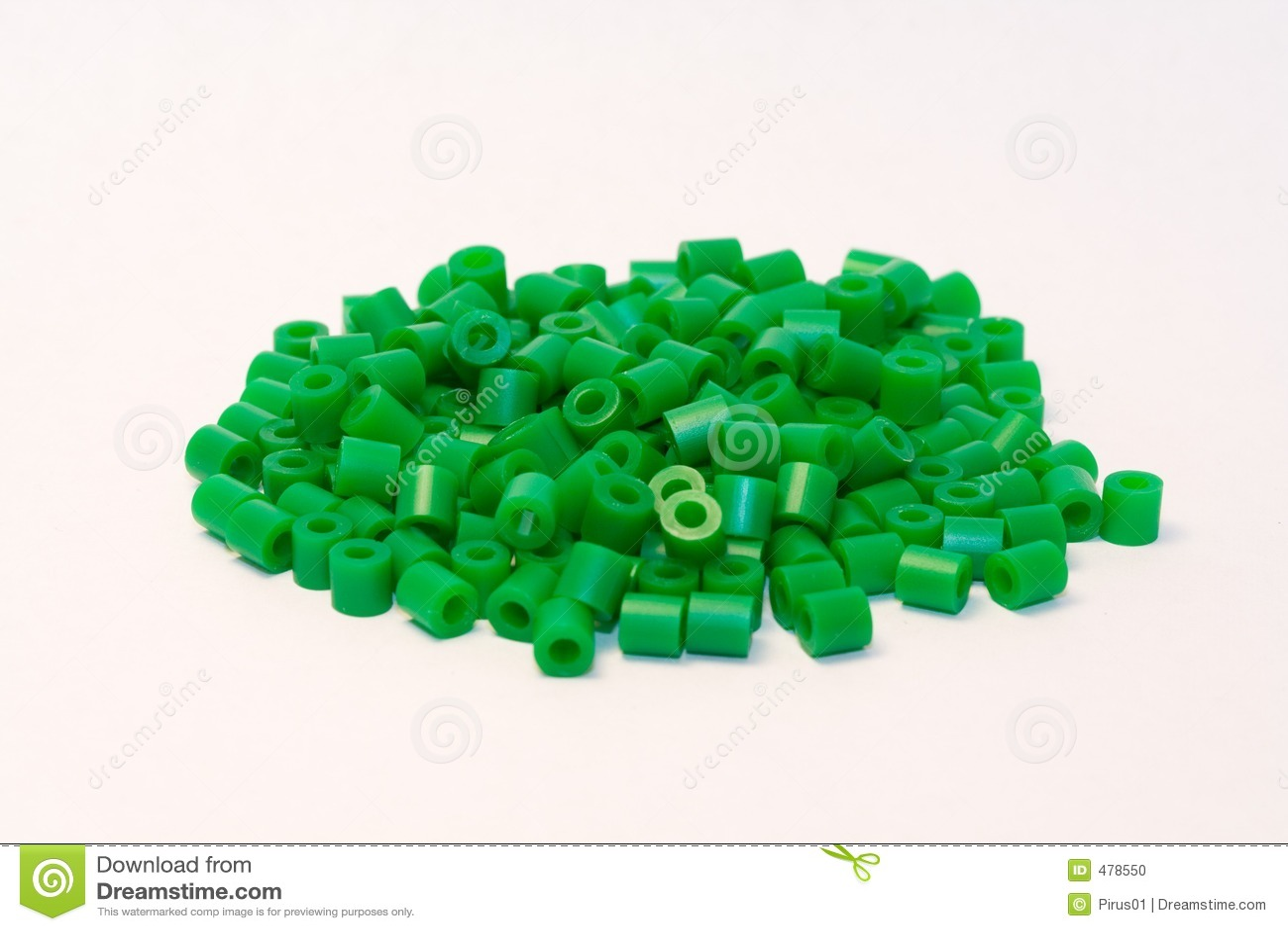 пластмасса шариков зеленая