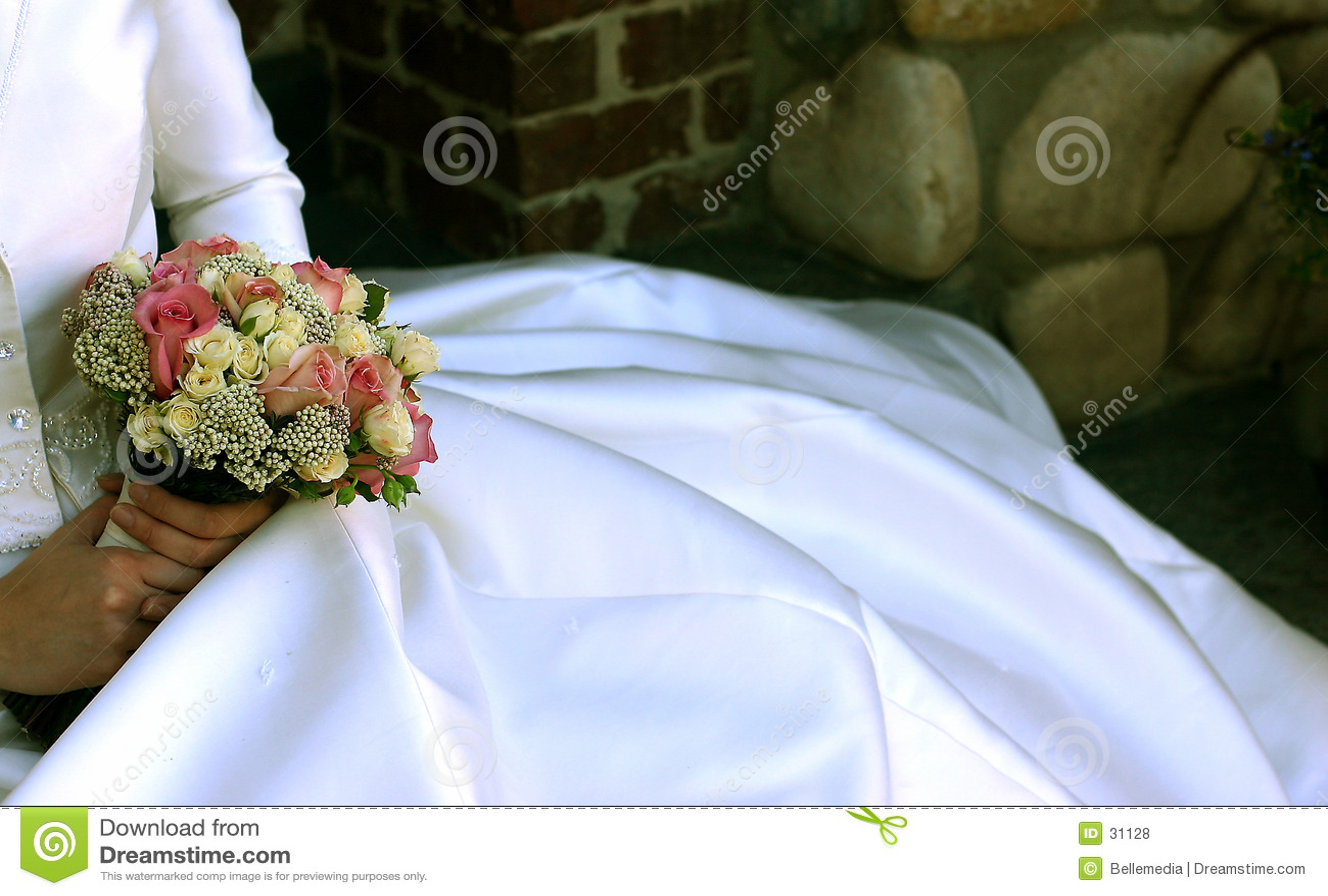 платье цветет венчание